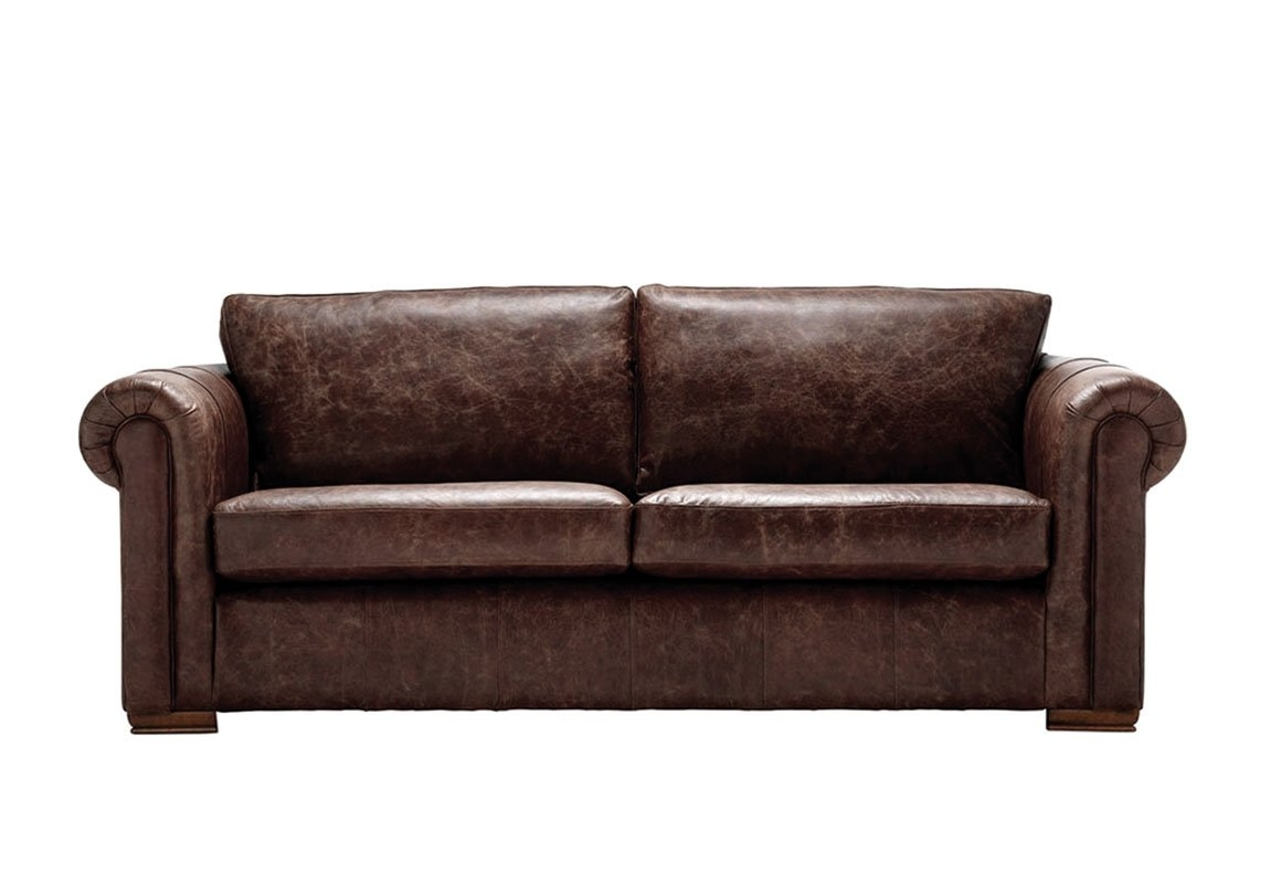 Aspen Leather Sofas Pertaining To Most Popular Aspen 3 Seater Leather Sofa – Thomas Lloyd (View 5 of 15)