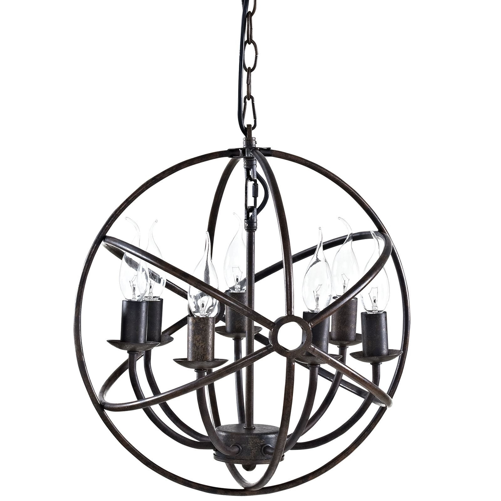 Atom Chandeliers With Regard To Recent Atom Chandelier – Free Shipping Today – Overstock –  (View 6 of 15)