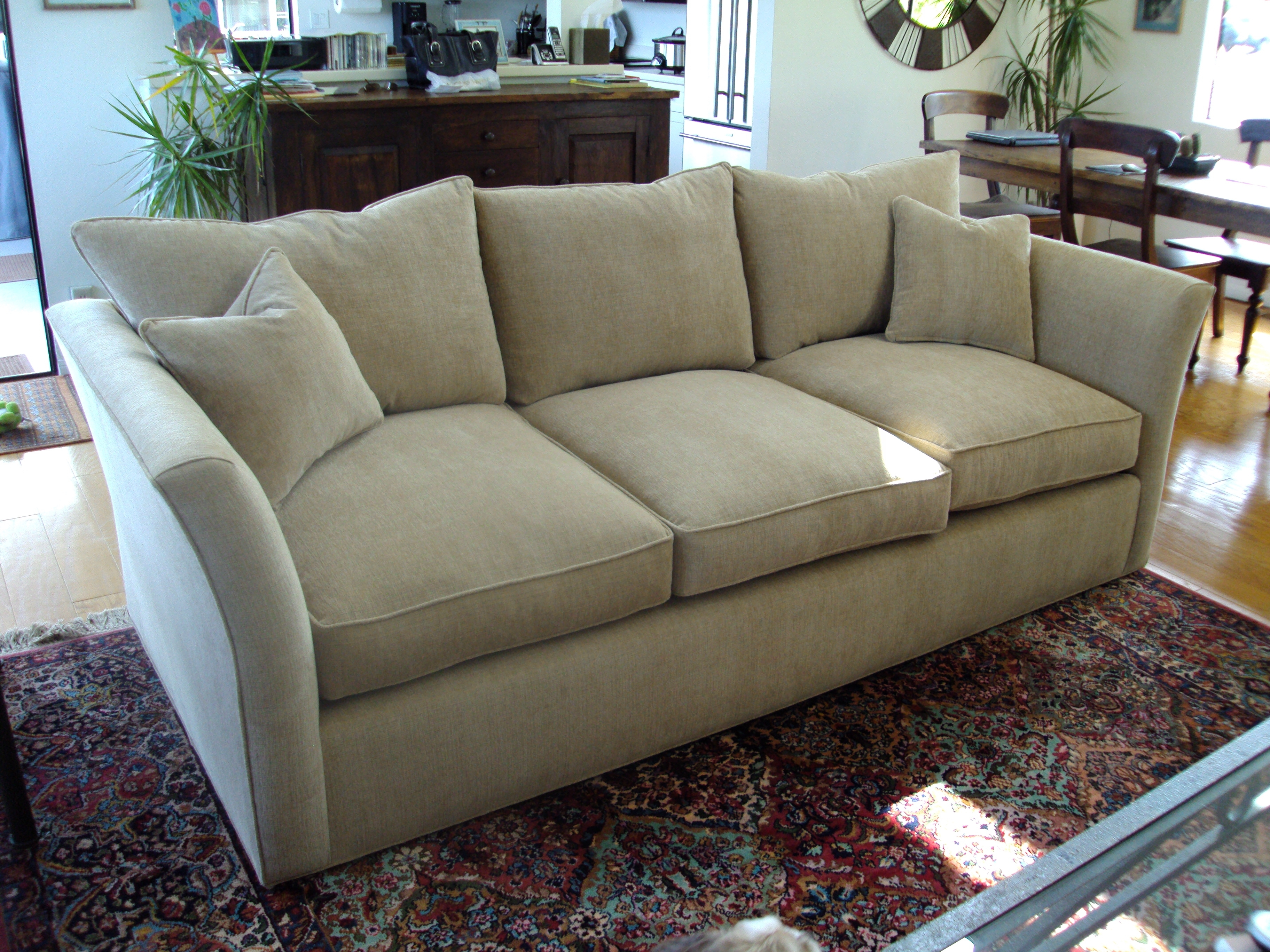 Attractive Reupholstering A Sectional Sofa 67 For Sectional Sofas For Latest Sectional Sofas In North Carolina (View 6 of 15)
