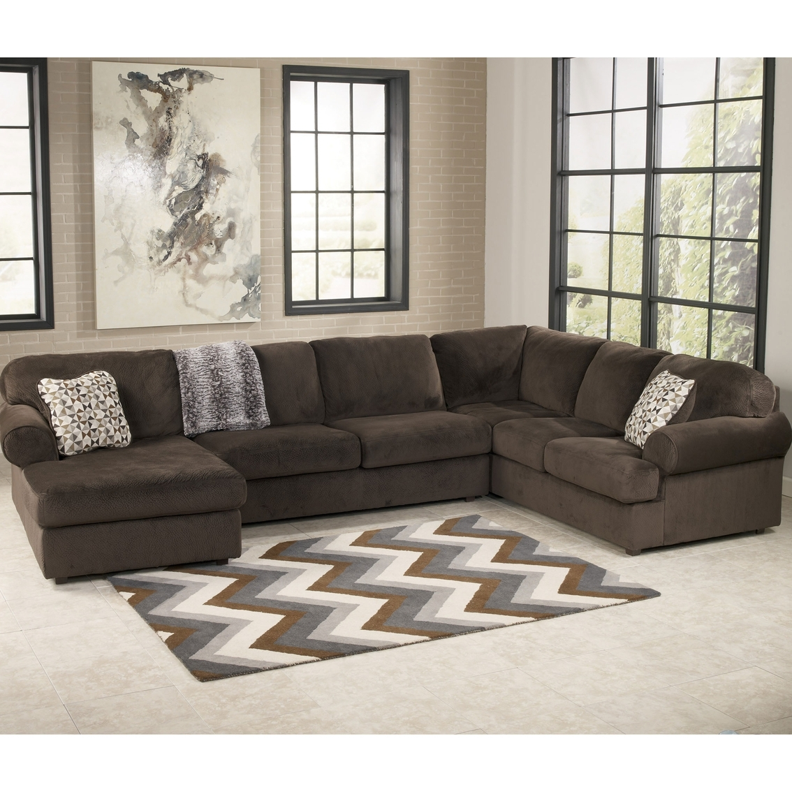 Austin Sectional Sofas In Most Up To Date Signature Designashley Jessa Place 3 Pc (View 3 of 15)