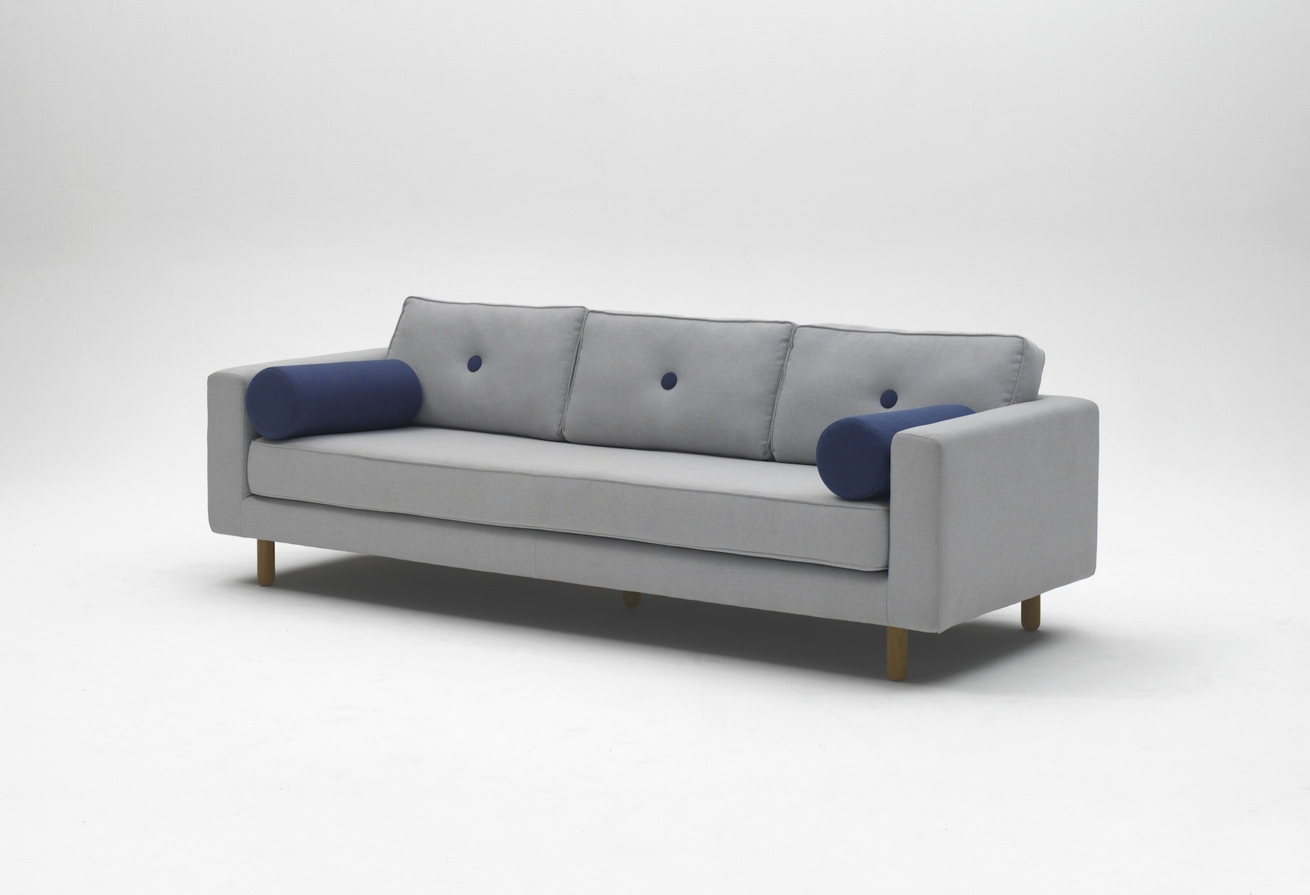 Avenue 4 Seat Fabric Sofa – Crowdyhouse For Recent 4 Seat Sofas (View 4 of 15)