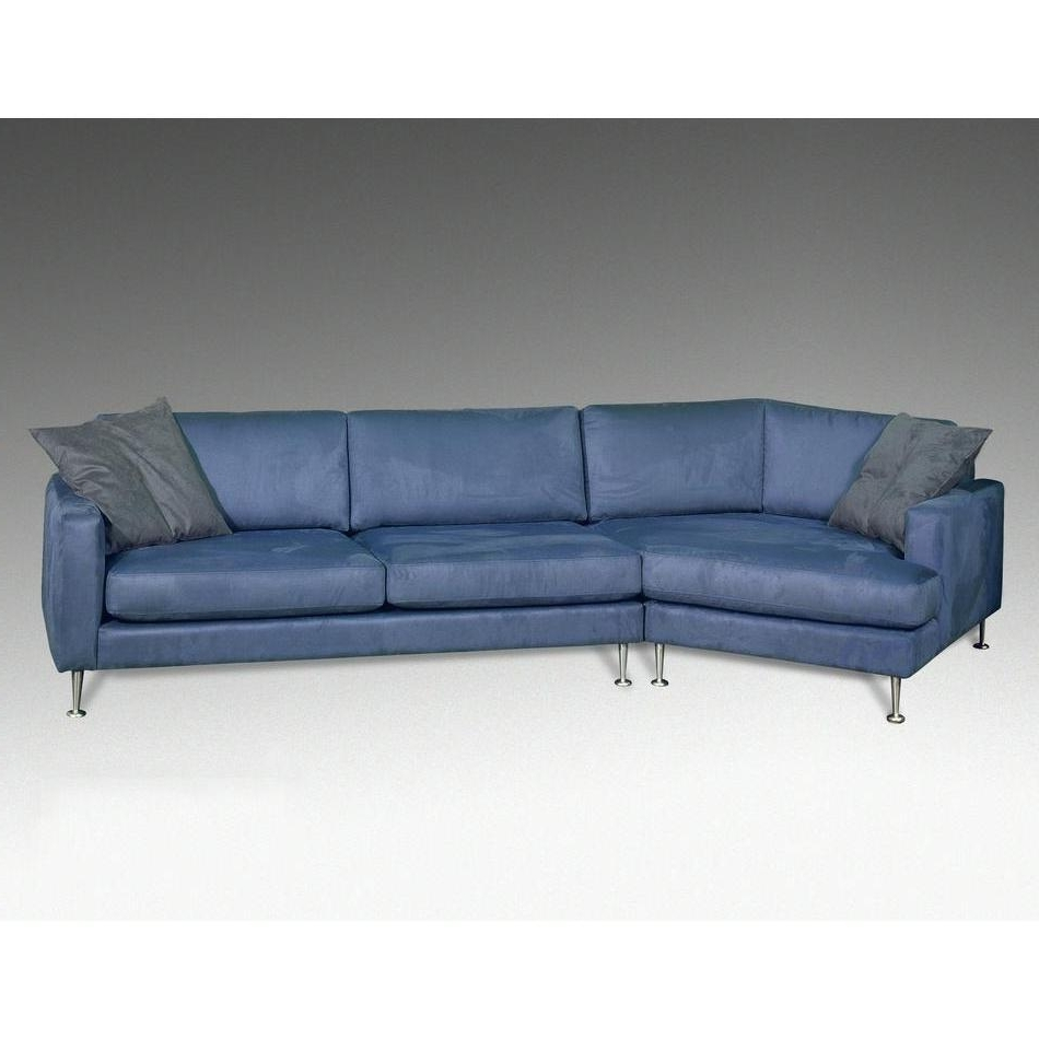 Awesome Blue Leather Sectional Gallery – Liltigertoo Throughout Preferred Niagara Sectional Sofas (View 15 of 15)