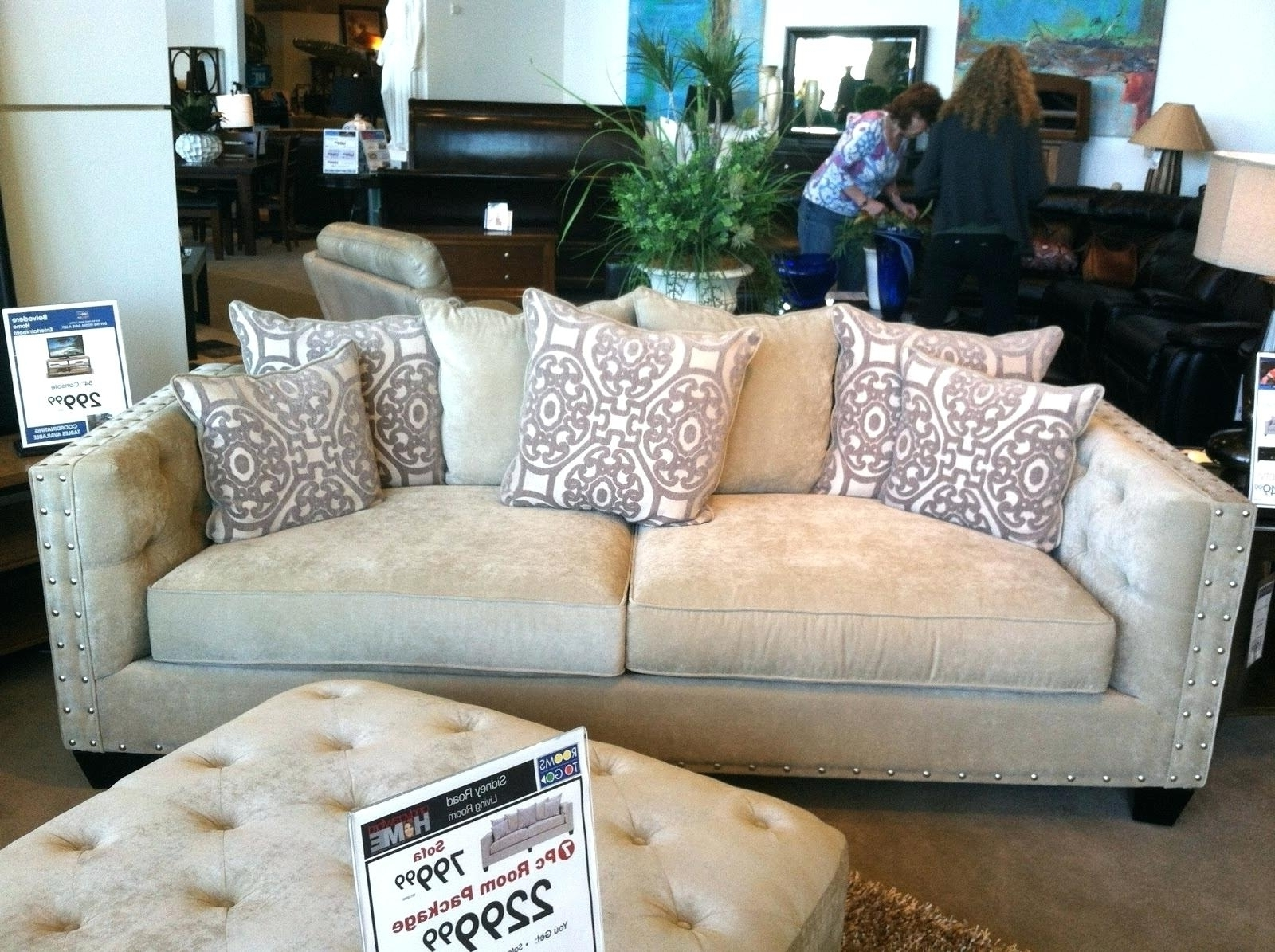Awesome Cindy Crawford Home Sectional Sofa – Mediasupload Throughout Recent Cindy Crawford Sofas (View 5 of 15)