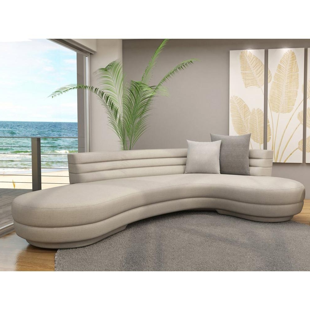 Awesome Curved Sectional Sofa — Steveb Interior Pertaining To Most Popular Dayton Ohio Sectional Sofas (View 2 of 15)