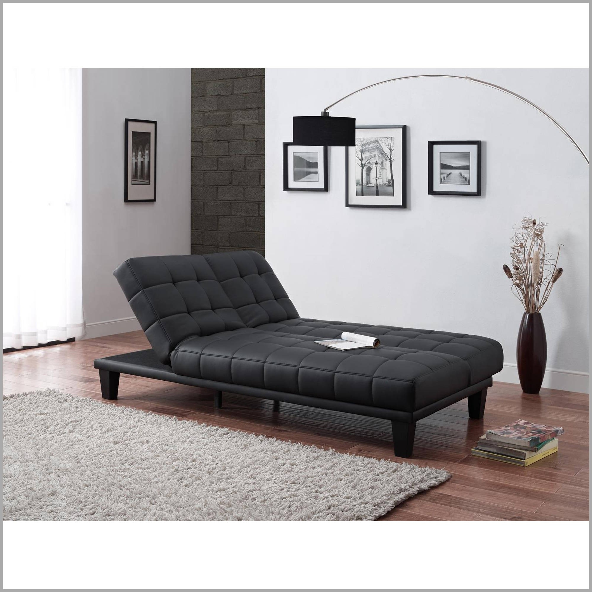 Awesome Futon Lounger Accessories 53018 – Futon Ideas Pertaining To Most Current Futons With Chaise Lounge (View 5 of 15)