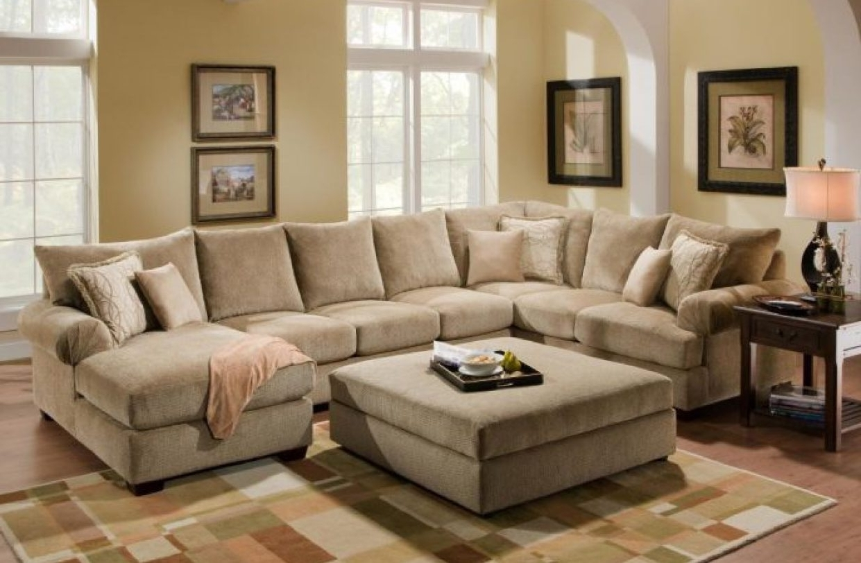 Awesome Large U Shaped Sectional Sofa – Buildsimplehome With Regard To Famous Large U Shaped Sectionals (View 15 of 15)
