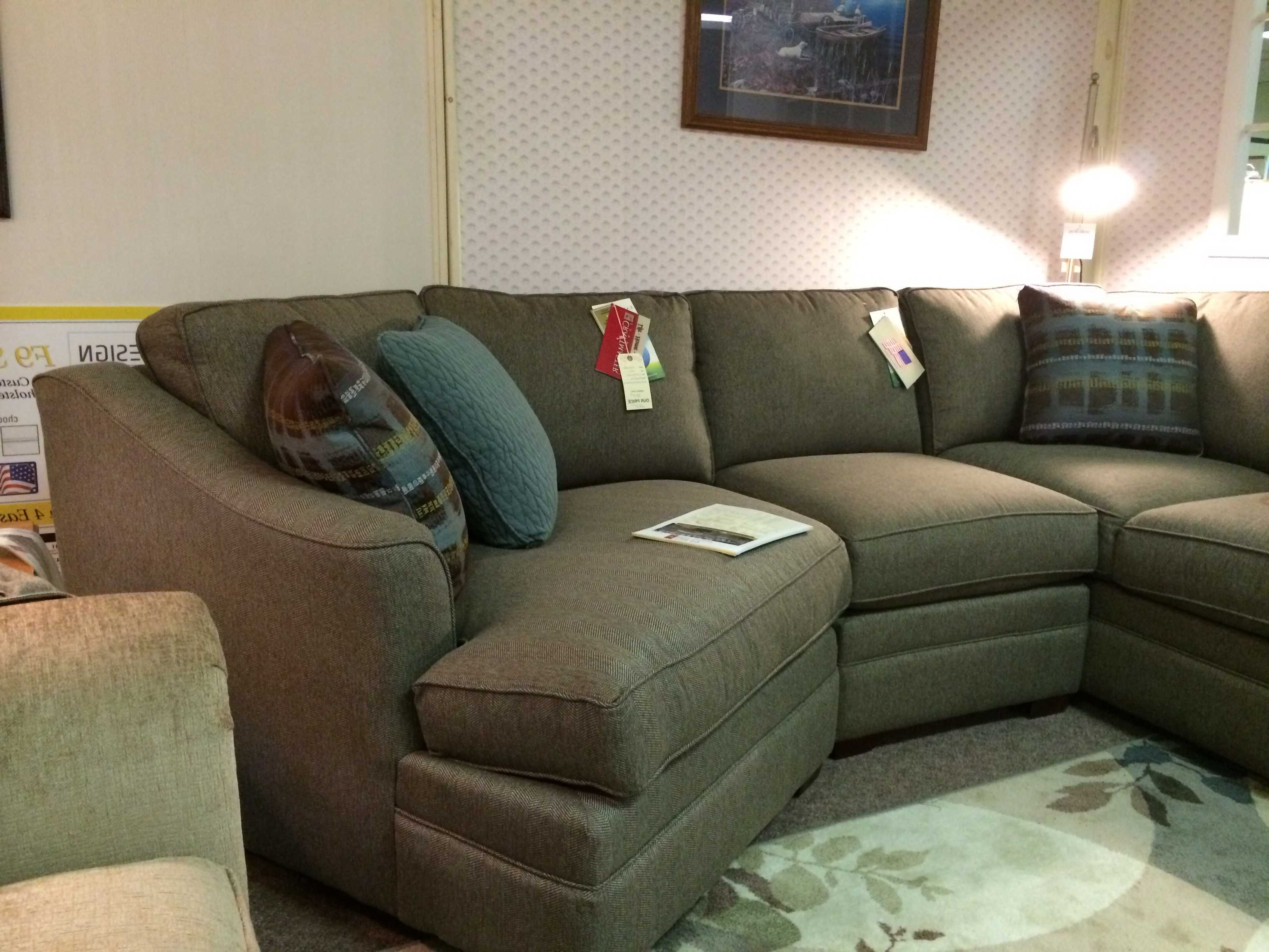Awesome Sectional Sofa With Cuddler Chaise Also Ideas ~ Eduquin Inside 2017 Sectionals With Cuddler And Chaise (View 5 of 15)