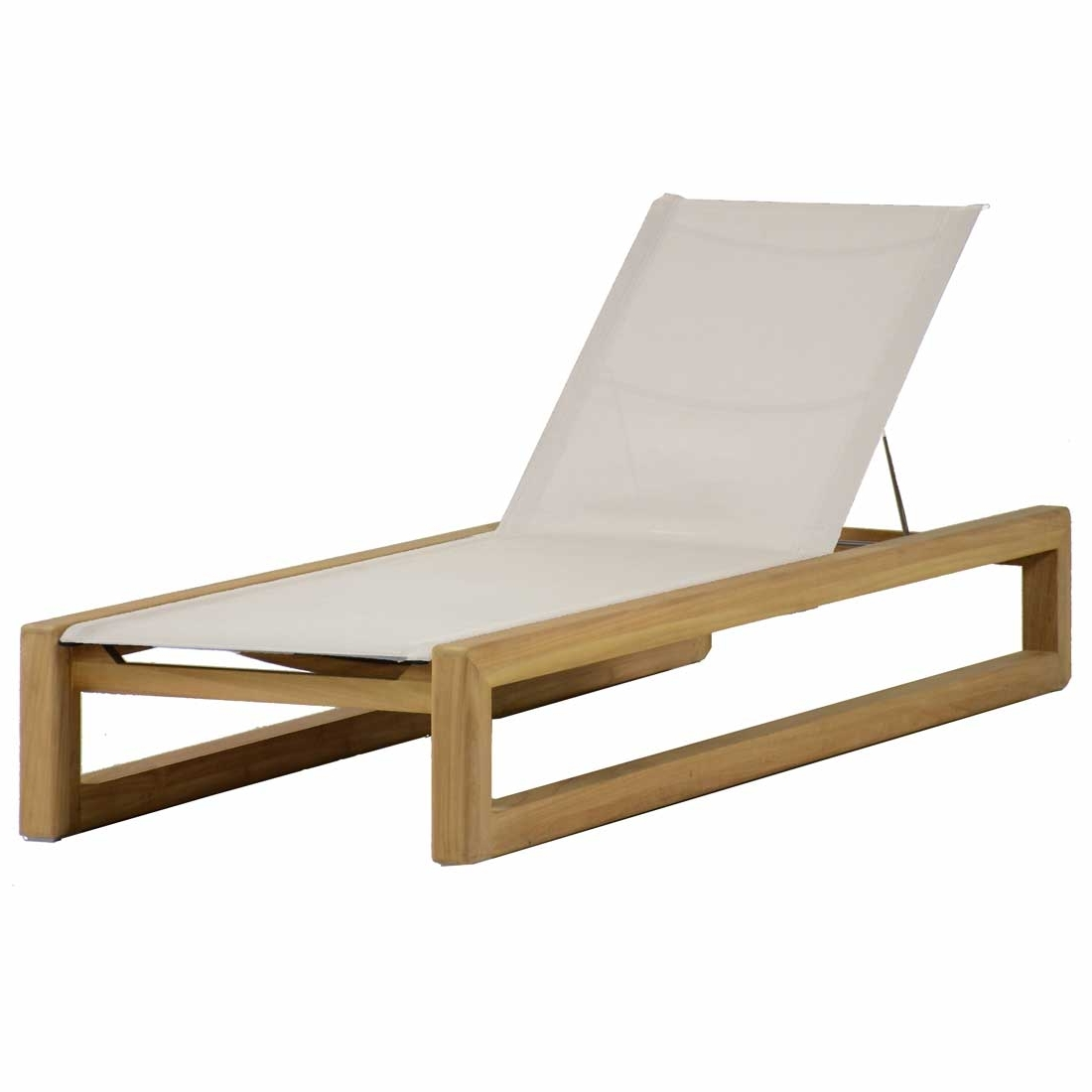 Bali Teak Chaise Lounge – Summer Classics In Popular Teak Chaise Lounges (View 4 of 15)