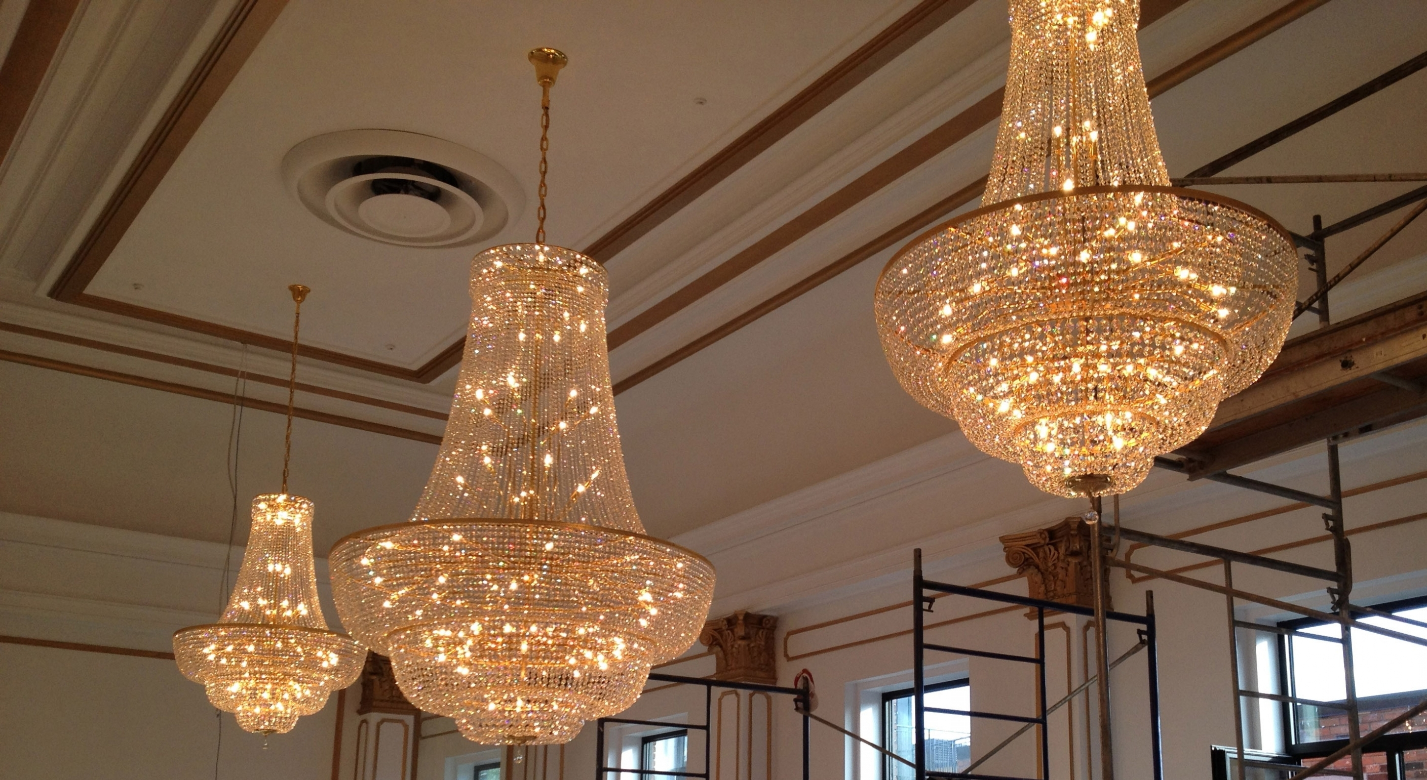 Ballroom Chandeliers Throughout Well Known Chandelier ~ 15 Ballroom Chandeliers (View 2 of 15)