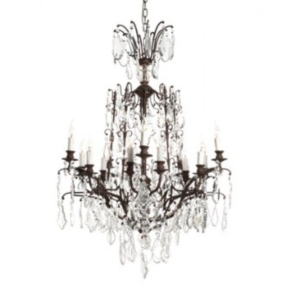 Baroque Chandelier With Regard To Fashionable Baroque Chandelier (View 4 of 15)