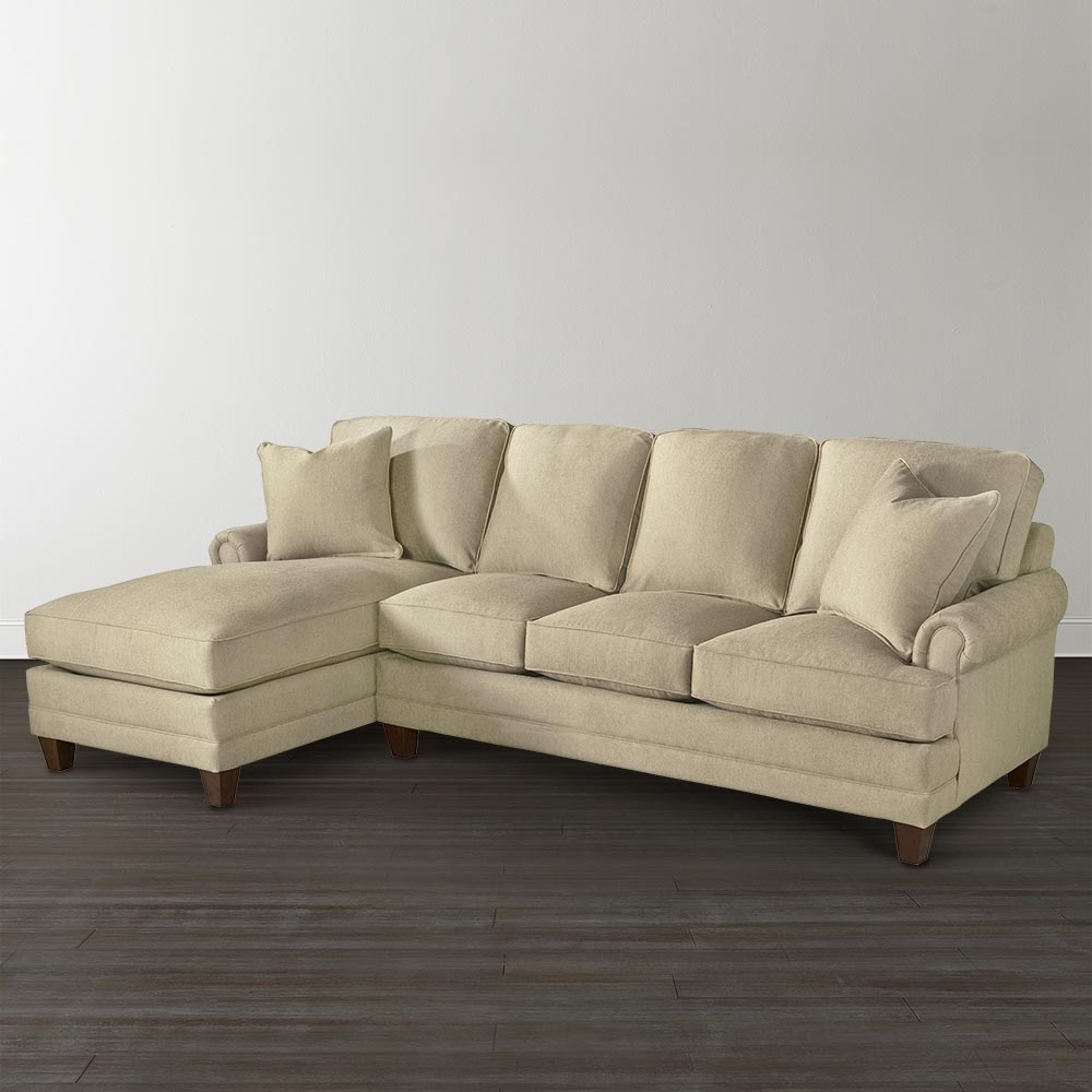 Bassett Furniture Inside Popular Small Couches With Chaise (View 2 of 15)