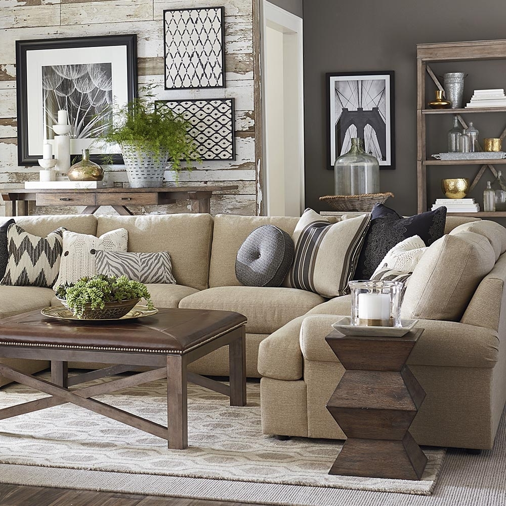 Bassett Furniture Intended For Newest Sectional Sofas At Bassett (View 9 of 15)