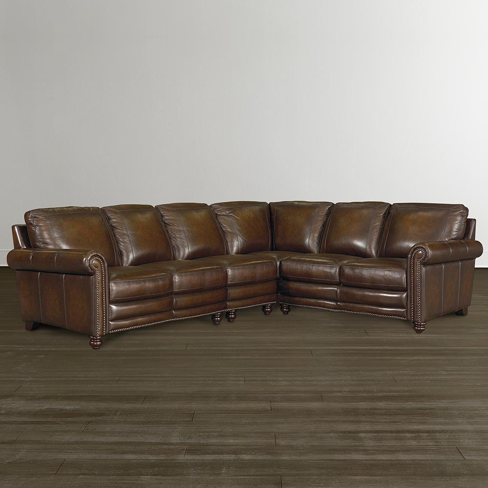 Bassett Furniture Throughout Leather L Shaped Sectional Sofas (View 3 of 15)