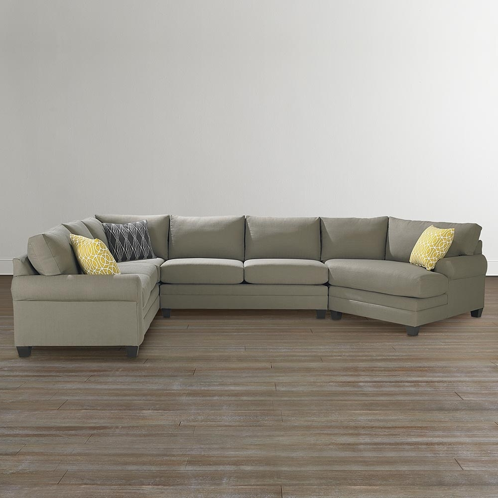 Bassett Home Furnishings with regard to Sectional Sofas With Cuddler