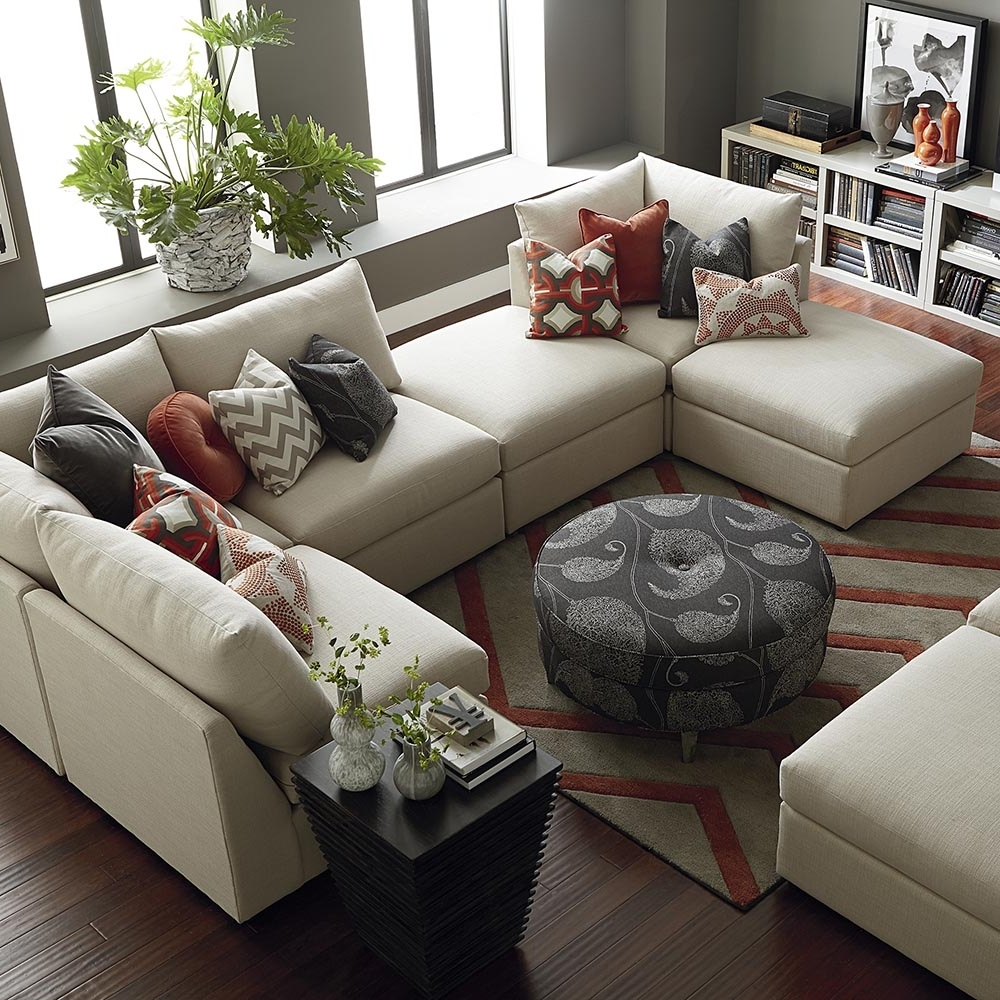 Bassett Home Furnishings Within Modern U Shaped Sectionals (View 3 of 15)