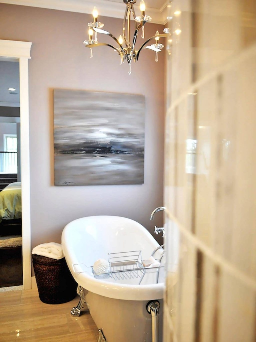 Bathroom Chandelier Lighting Ideas Modern Chandeliers In Small For Most Up To Date Bathroom Chandelier Lighting (View 2 of 15)