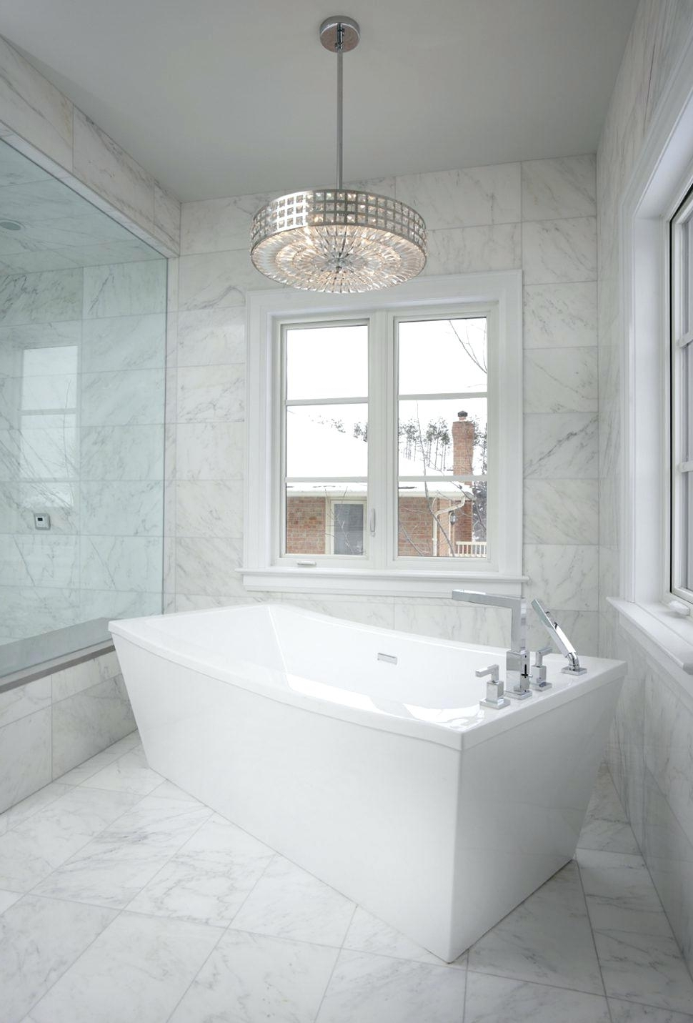 Bathroom Chandelier Lighting With Tended Lightg Modern Ideas Pertaining To Well Liked Bathroom Chandelier Lighting (View 6 of 15)