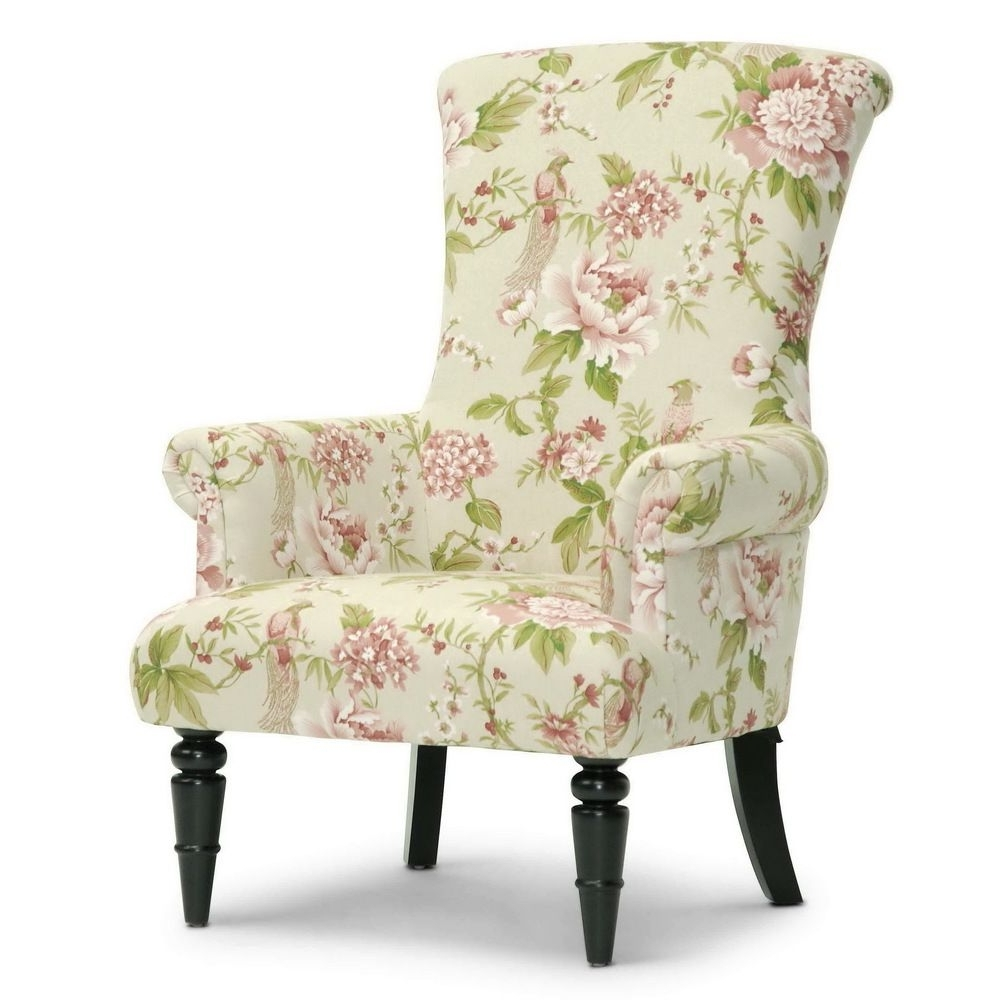 Beautiful Chair Intended For Most Popular Floral Sofas And Chairs (View 5 of 15)