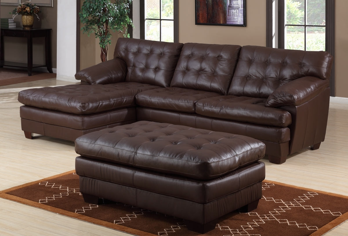 Beautiful Leather Reclining Sectional Sofa With Chaise (View 3 of 15)