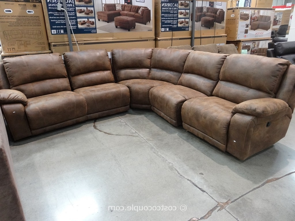Beckett Sectional Havertys Recliner Sofa Deals Power Reclining Within Best And Newest Sectional Sofas With Power Recliners (View 5 of 15)