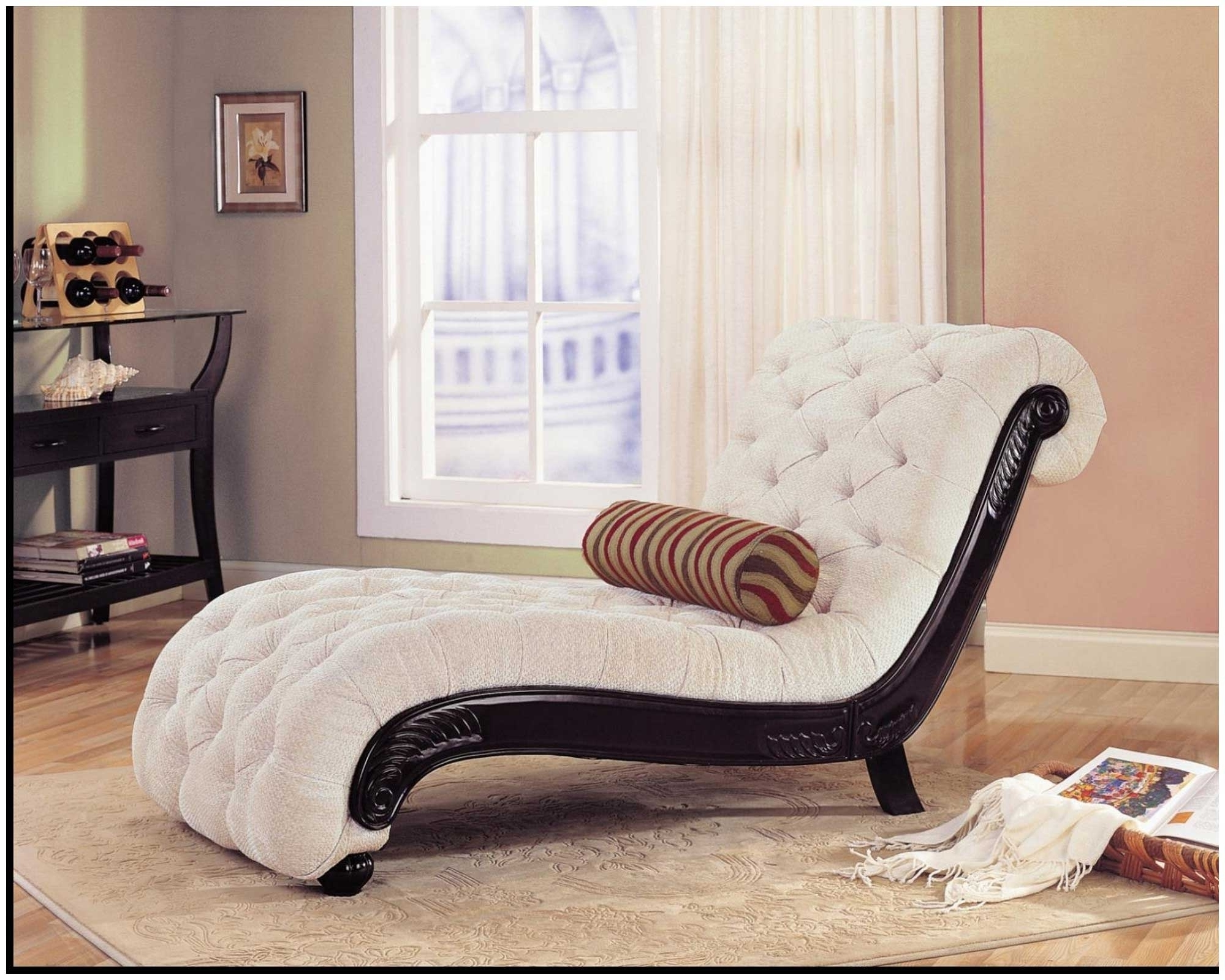 Bedroom Chairs Indoor Chaise Lounge Chairs White Colour Indoor For In Well Liked White Indoor Chaise Lounges (View 2 of 15)
