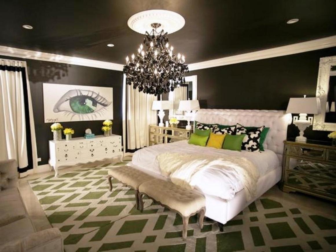 Bedroom Chandeliers Within Most Popular Bedroom Crystal Chandelier Bedroom Decorating Ideas Chandeliers (View 4 of 15)