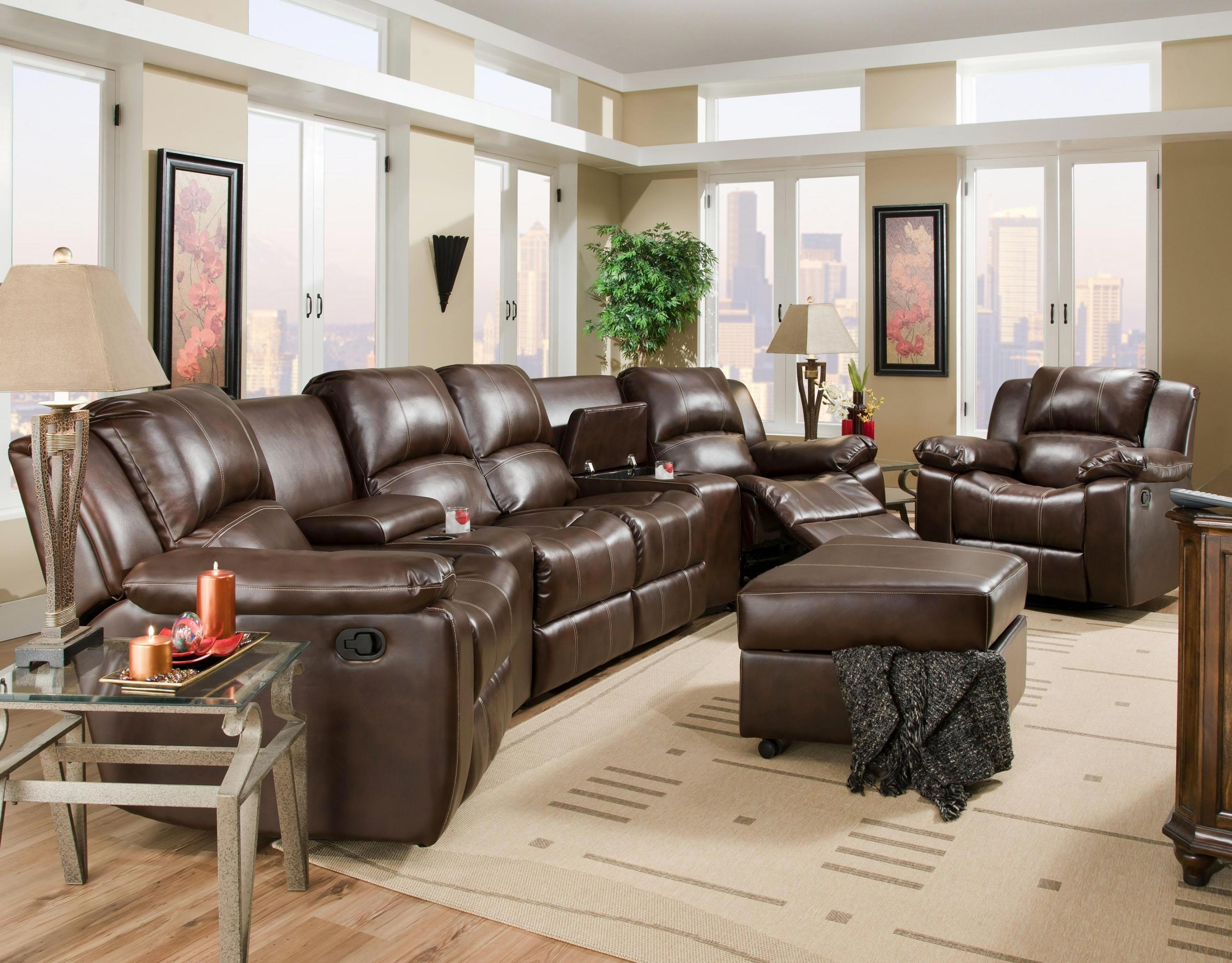Belfort Furniture Reviews Reclining Sectional Sofas Washington Dc Intended For Most Popular Virginia Sectional Sofas (View 15 of 15)