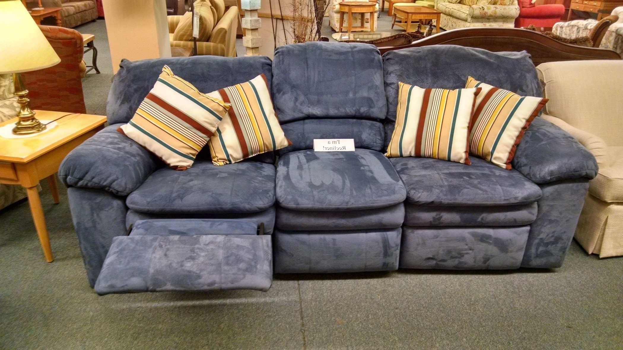 Berkline Sofas Within Best And Newest Berkline Blue Reclining Sofa (View 7 of 15)