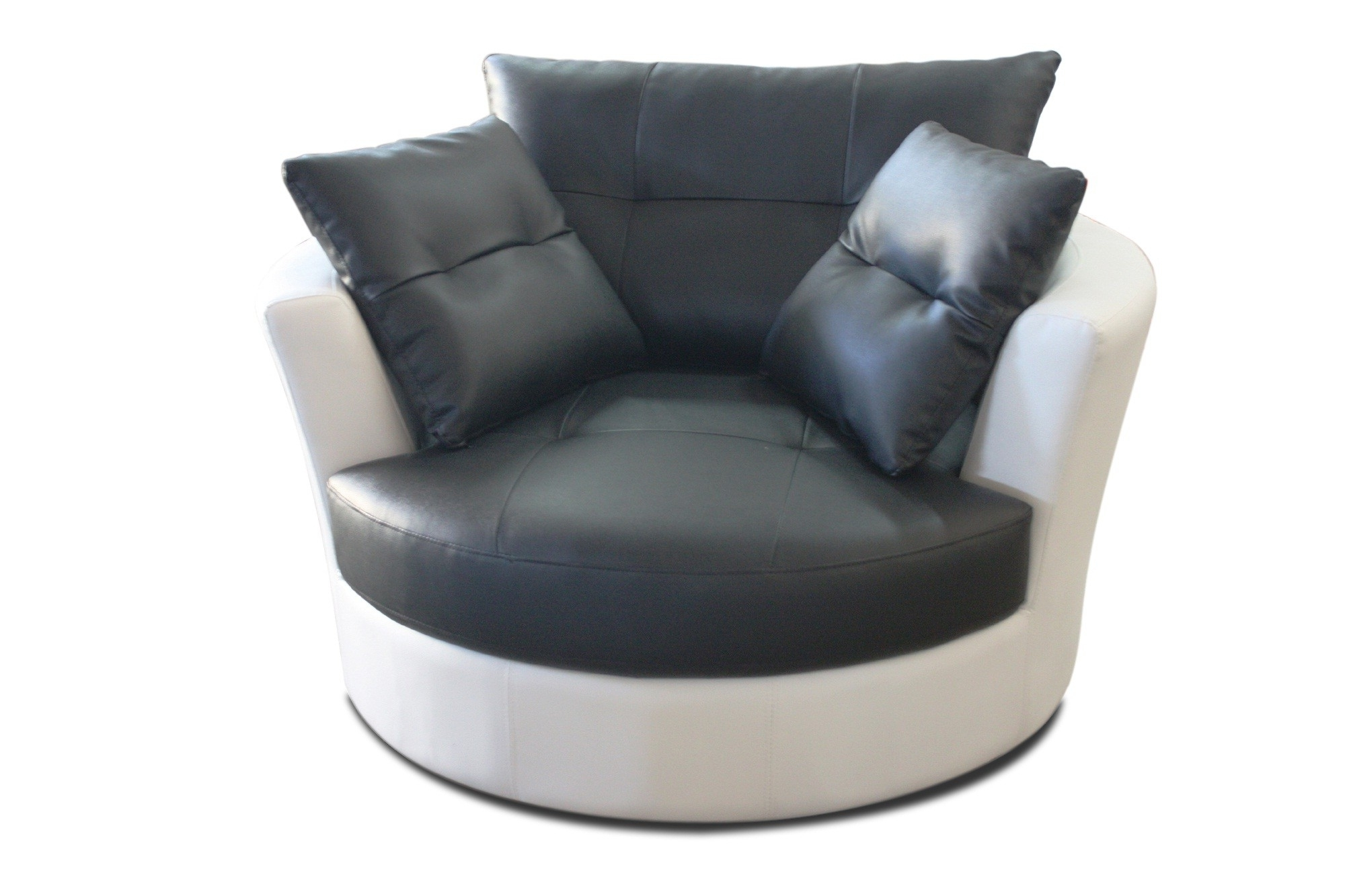 Best And Newest Awesome Round Swivel Sofa Chair Images – Liltigertoo With Cuddler Swivel Sofa Chairs (View 1 of 15)