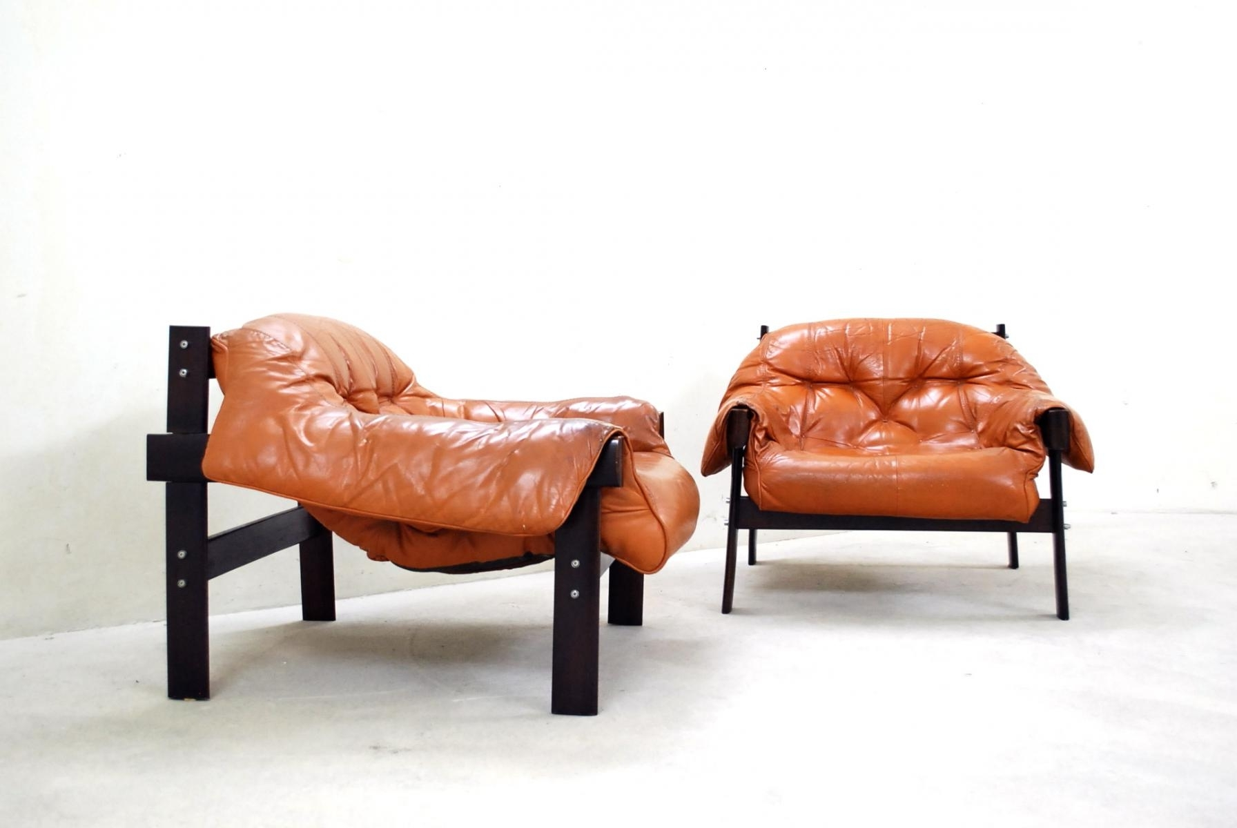 Best And Newest Brazilian Leather Lounge Chairpercival Lafer For Sale At Pamono Regarding Lounge Sofas And Chairs (View 9 of 15)