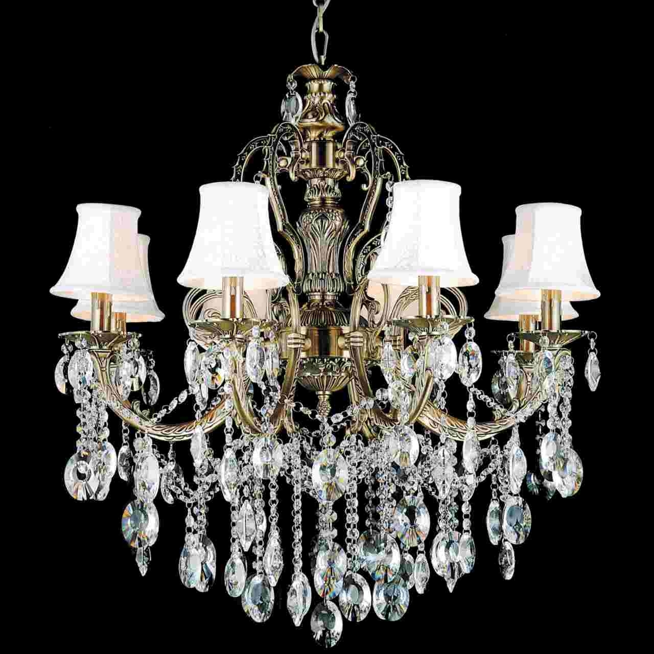 Best And Newest Chandelier Lampshades Regarding Brizzo Lighting Stores (View 2 of 15)