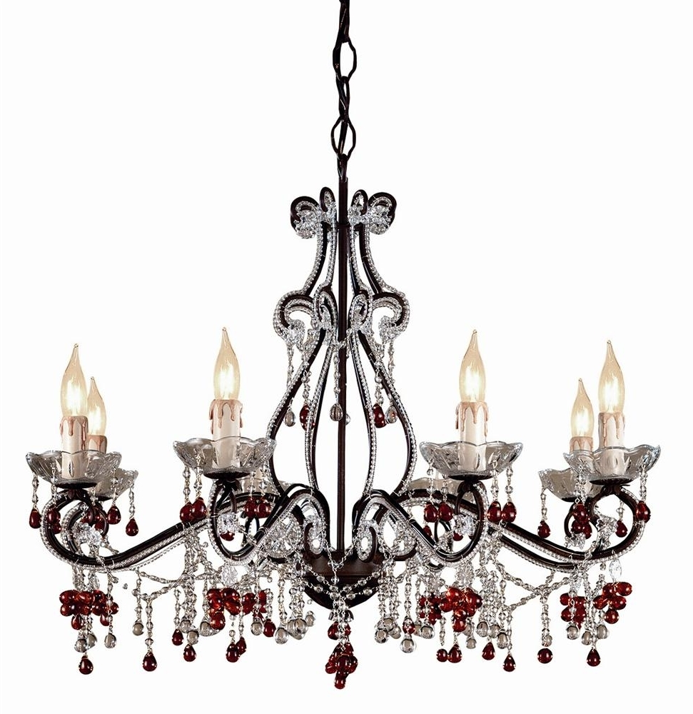 Best And Newest Coloured Chandeliers For Chandeliers Design : Magnificent Colored Crystal Chandeliers Modern (View 3 of 15)