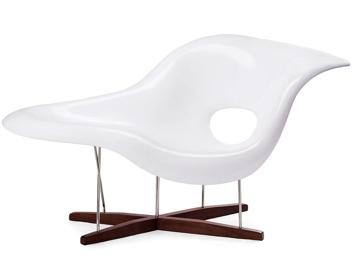 Best And Newest Eames La Chaises Regarding Eames La Chaise (Platinum Replica) (View 13 of 15)