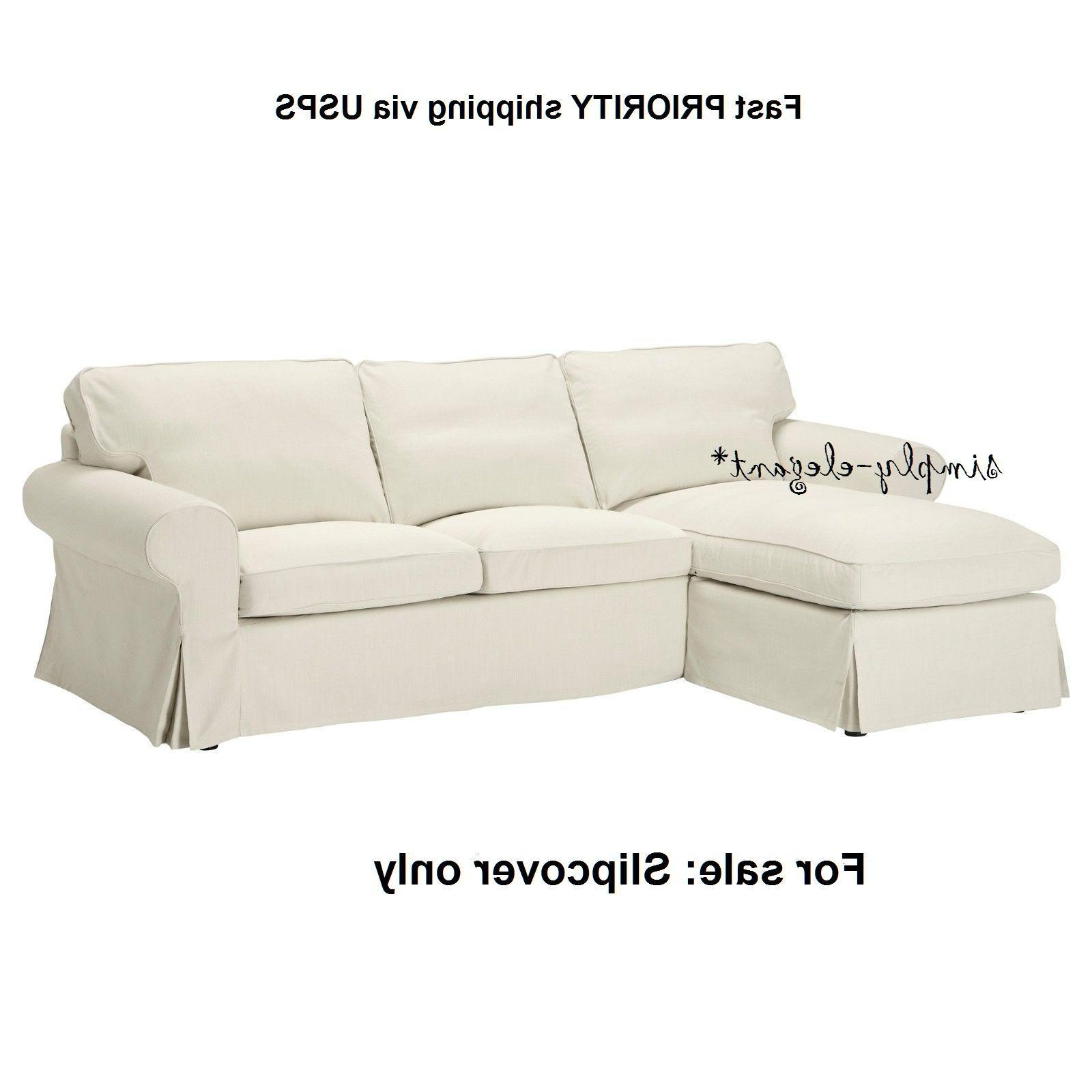 Best And Newest Ektorp Chaises With Ikea Ektorp Cover For Loveseat With Chaise Svanby Beige Sofa (View 3 of 15)