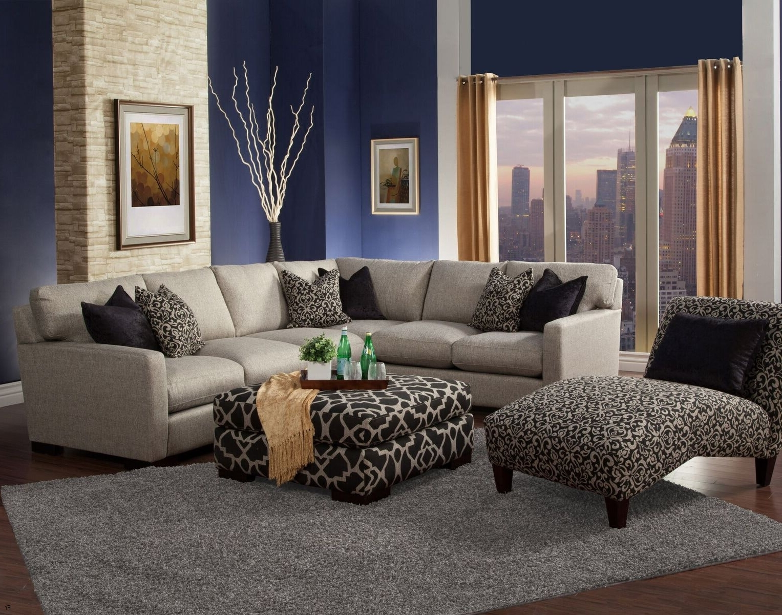 Best And Newest Excellent Reclining Sectional Sofas Microfiber 62 For Your Goose With Regard To Goose Down Sectional Sofas (View 14 of 15)