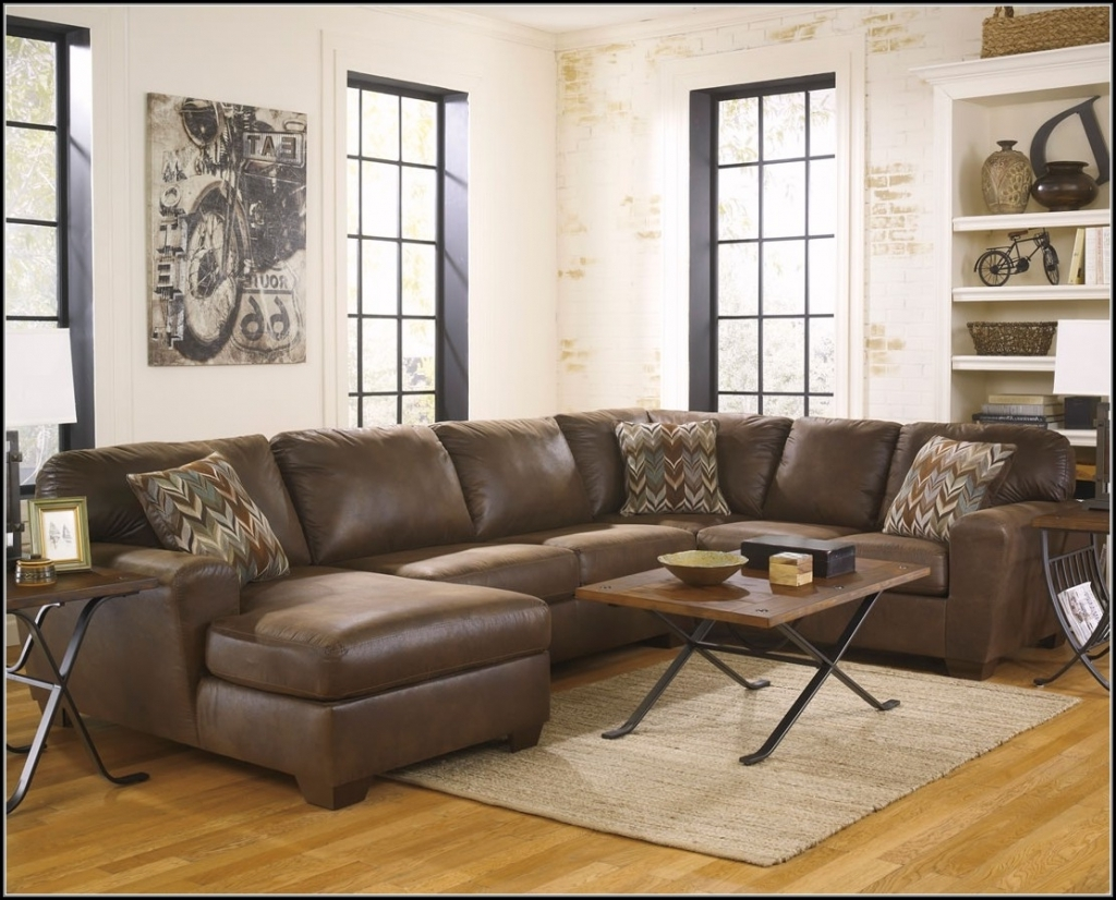 Best And Newest Faux Leather Sectional Sofas Inside Astonishing Faux Leather Sectional Sofas 14 With Additional With (View 8 of 15)