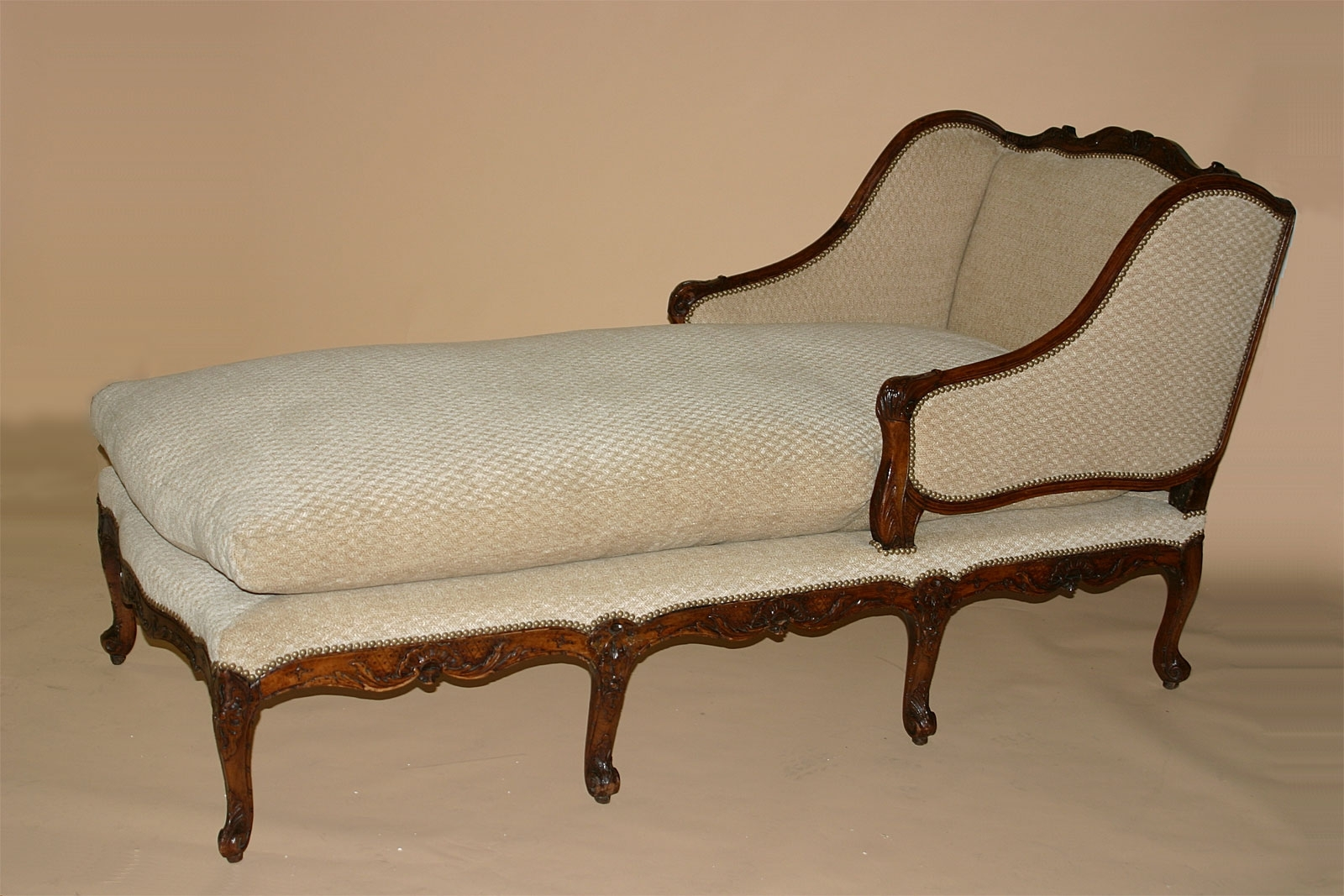 Best And Newest French Chaises Regarding Louis Xv Period Chaise Longue (View 14 of 15)