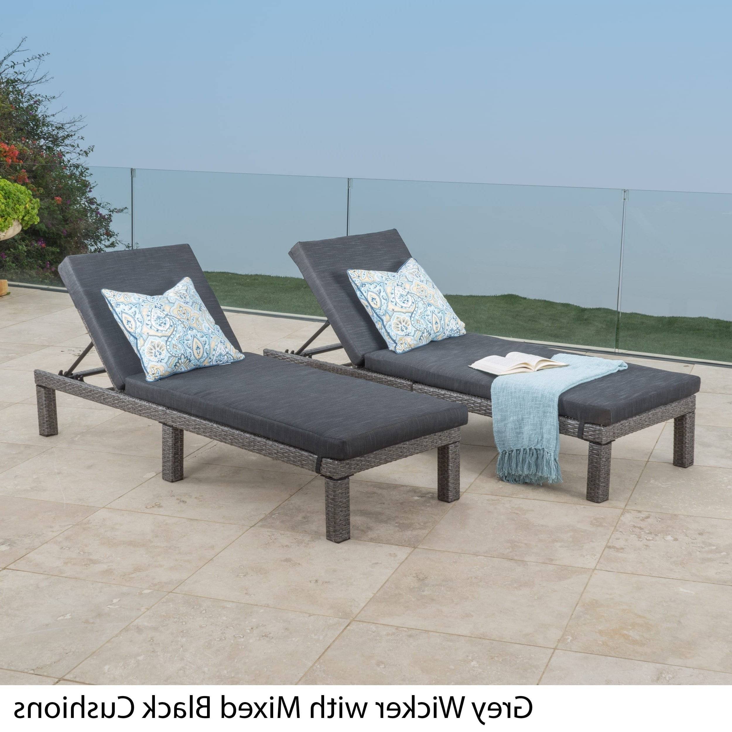 Best And Newest Grey Outdoor Chaise Lounges For Less (View 1 of 15)