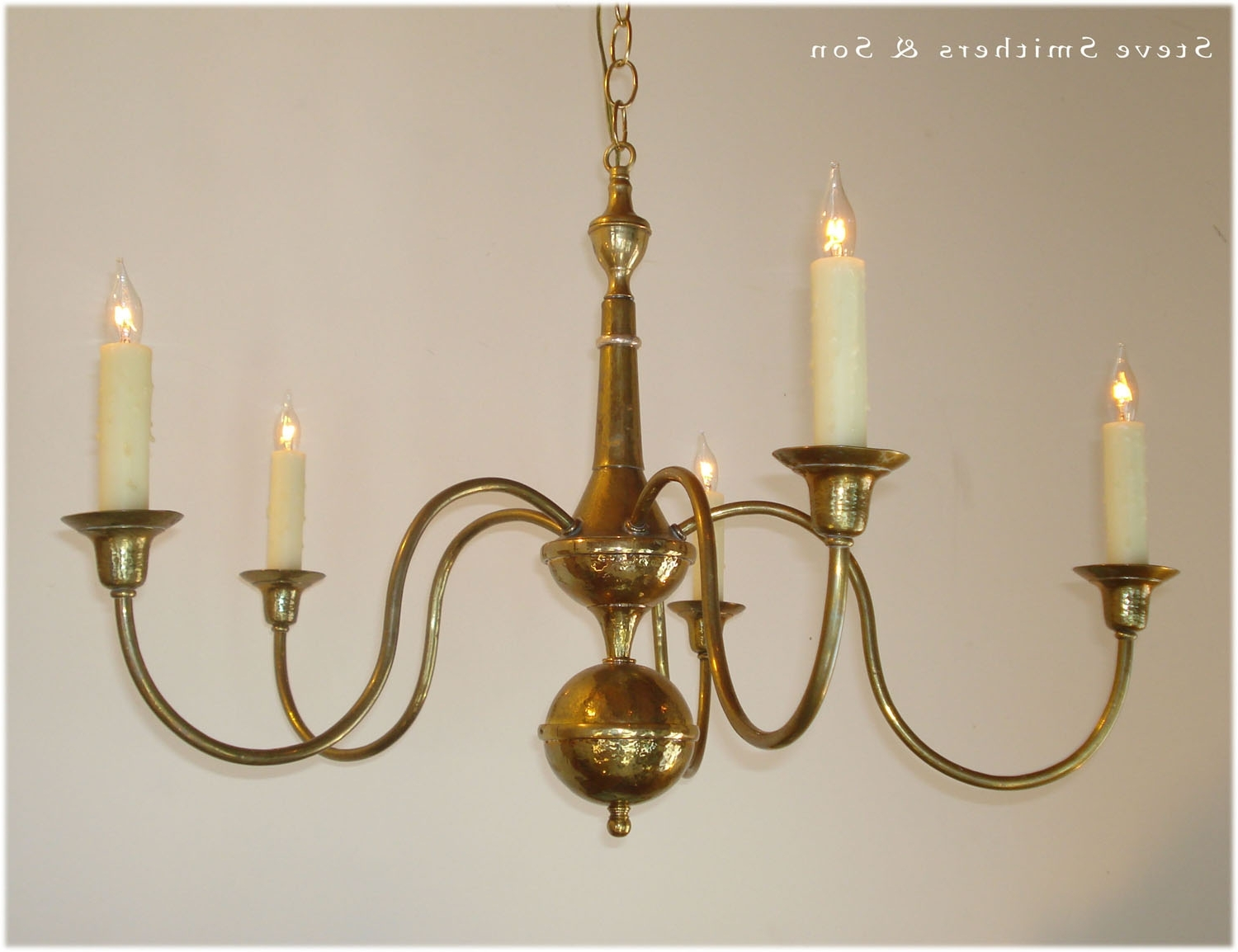 Best And Newest Handmade Brass Sconces Chandeliers Lamps Lanterns Intended For Brass Chandeliers (View 8 of 15)