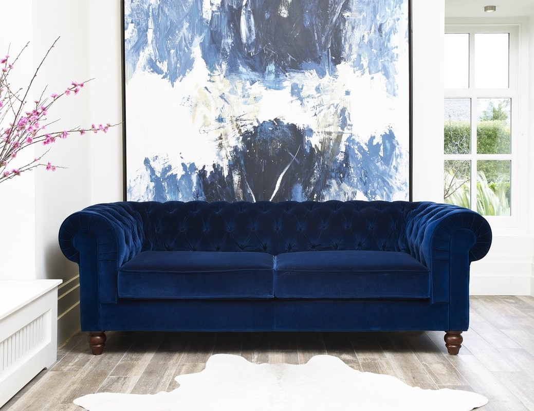 Best And Newest Hazelwood Home Deluxe 3 Seater Chesterfield Sofa & Reviews Pertaining To Chesterfield Sofas (View 2 of 15)