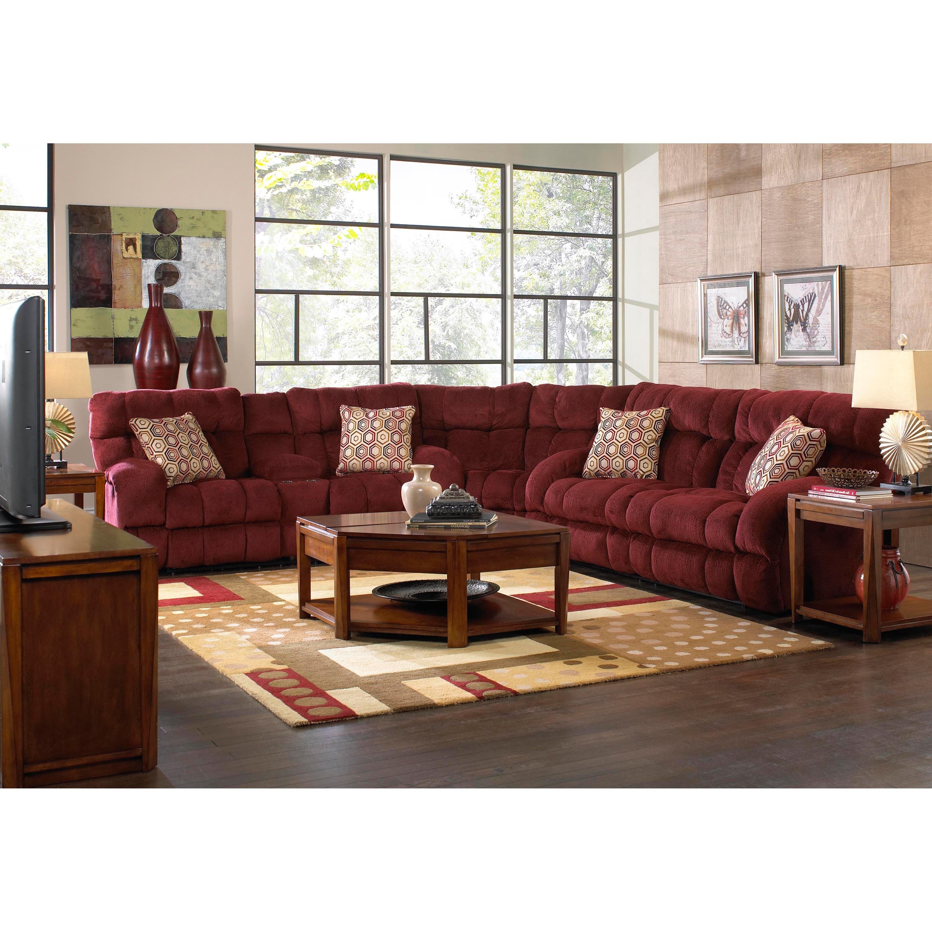 Best And Newest Jackson Ms Sectional Sofas With Regard To Catnapper Sectional Sofas (View 2 of 15)