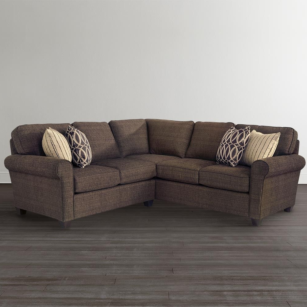 "Best And Newest L Shaped Sectionalbassett Furniture, 94"" X 91"", $1999, Bassett With Regard To L Shaped Sectional Sleeper Sofas (View 11 of 15)"