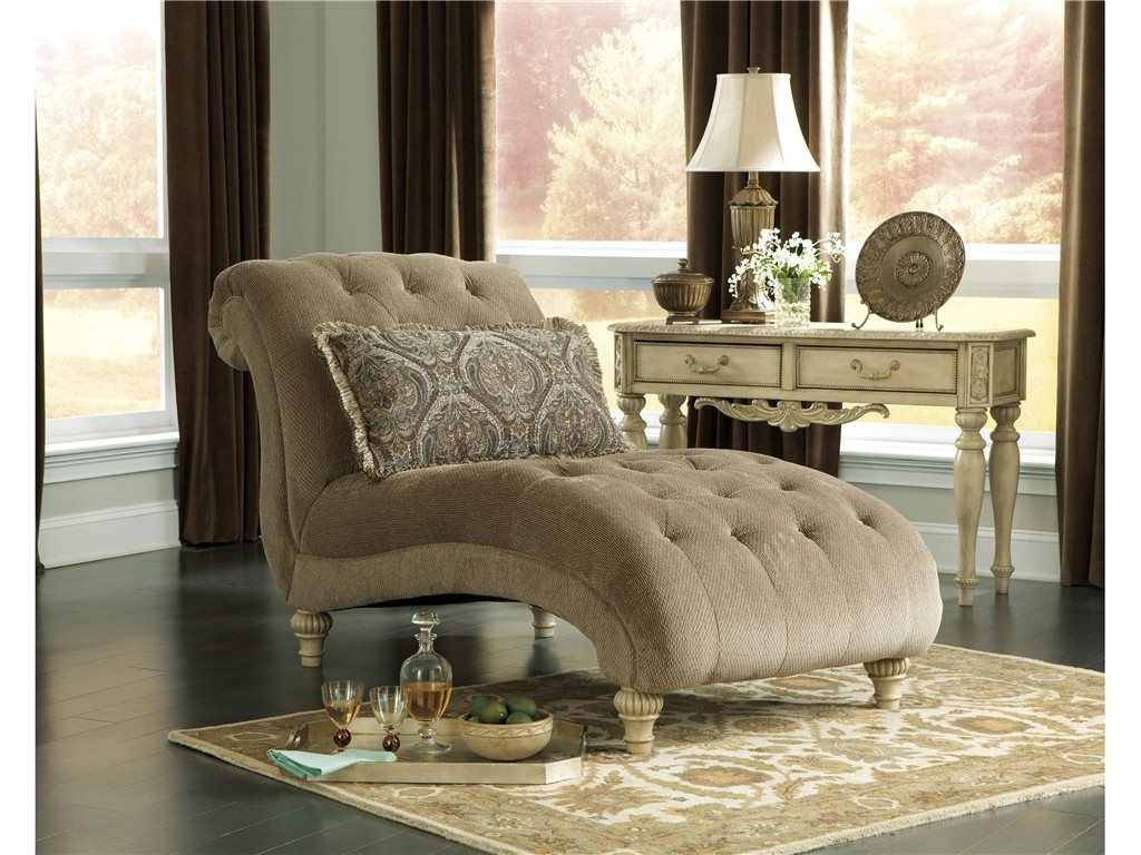 Best And Newest Living Room : Beautiful Chaise Lounge Indoor Chair With Yellow For Damask Chaise Lounge Chairs (View 2 of 15)