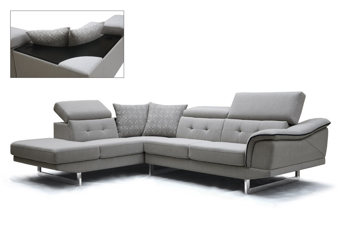 Best And Newest Modern Sectional Sofas Inside Sectional Sofa Design: Amazing Sectional Modern Sofa Ikea White (View 4 of 15)