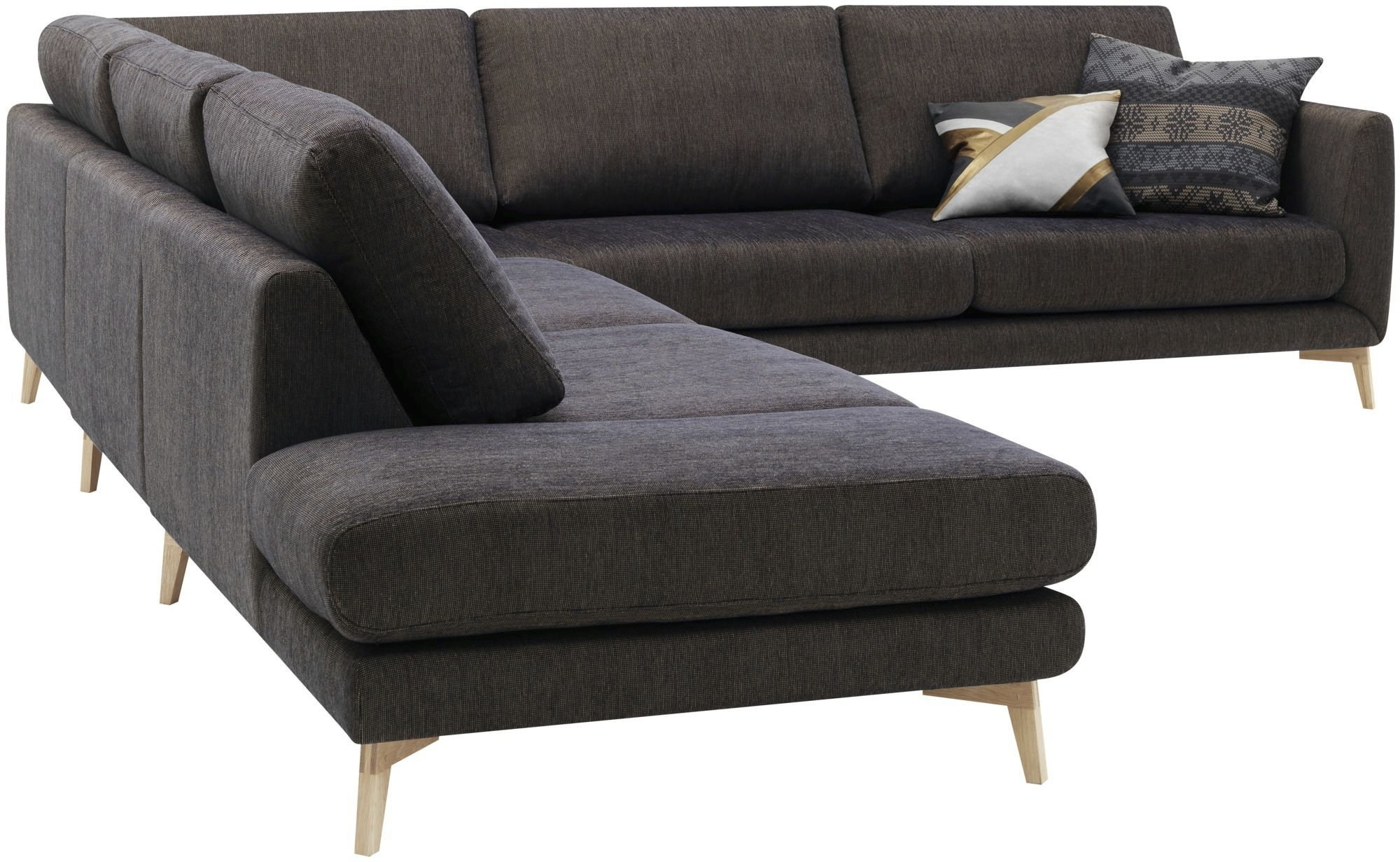Best And Newest Modular Corner Sofas With Regard To Corner Sofa / Modular / Contemporary / Leather – Fargoanders (View 2 of 15)