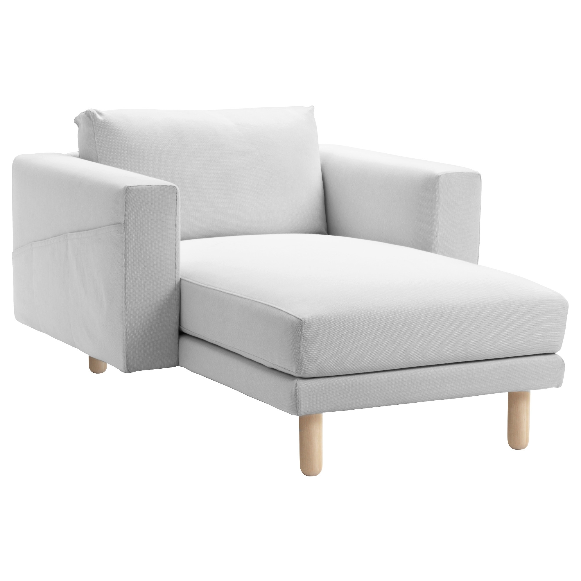 Best And Newest Norsborg Cover For Chaise Longue Finnsta White – Ikea For Ikea Chaise Longues (View 1 of 15)