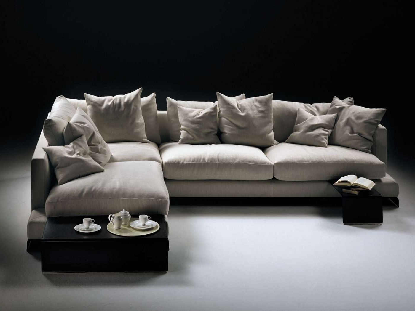 Best And Newest Nz Sectional Sofas Inside Studio Italia (View 12 of 15)