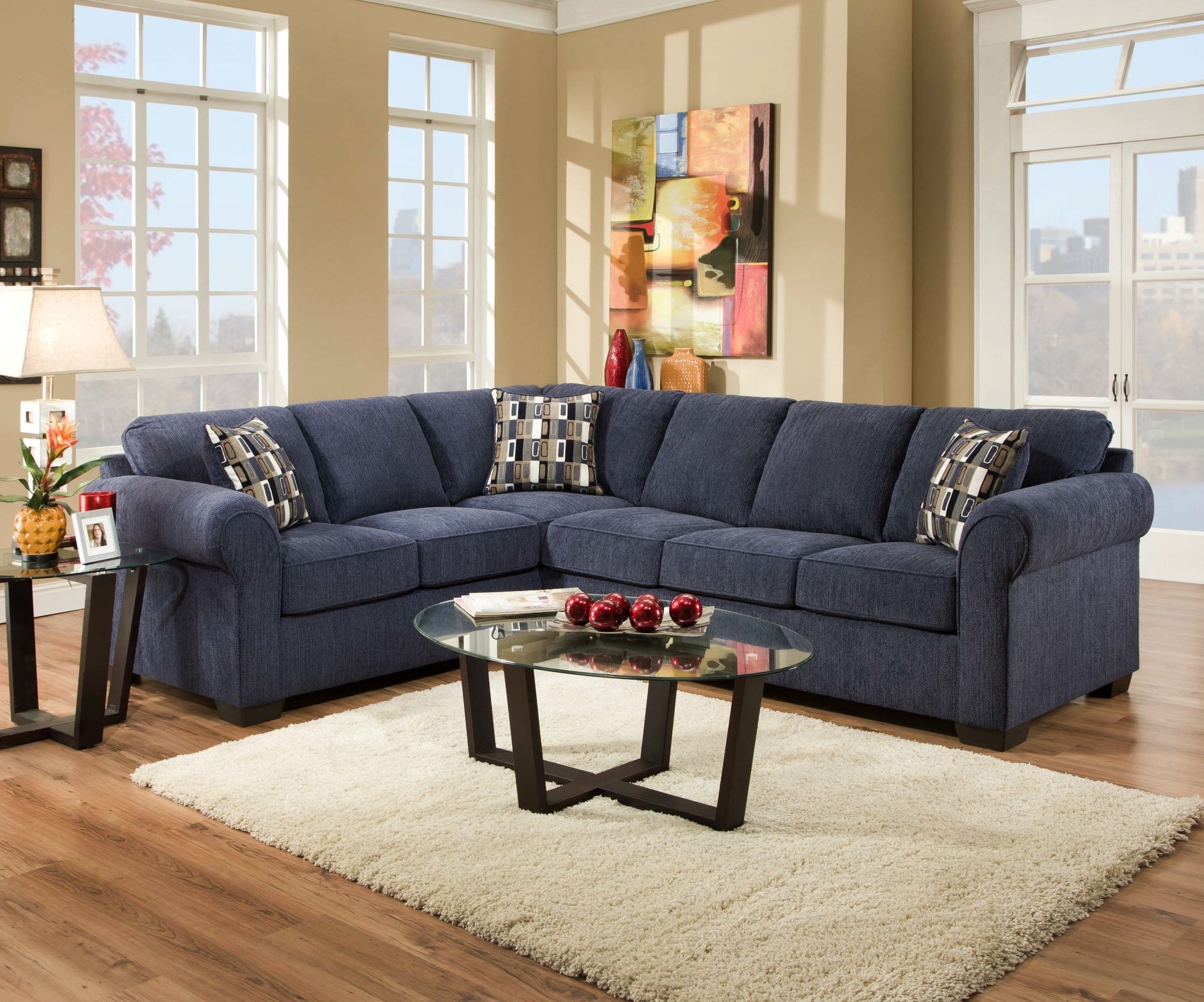 Best And Newest Ottawa Sectional Sofas In Living Room Sofa Beautiful Blue Microfiber Sectional In Sofas (View 6 of 15)