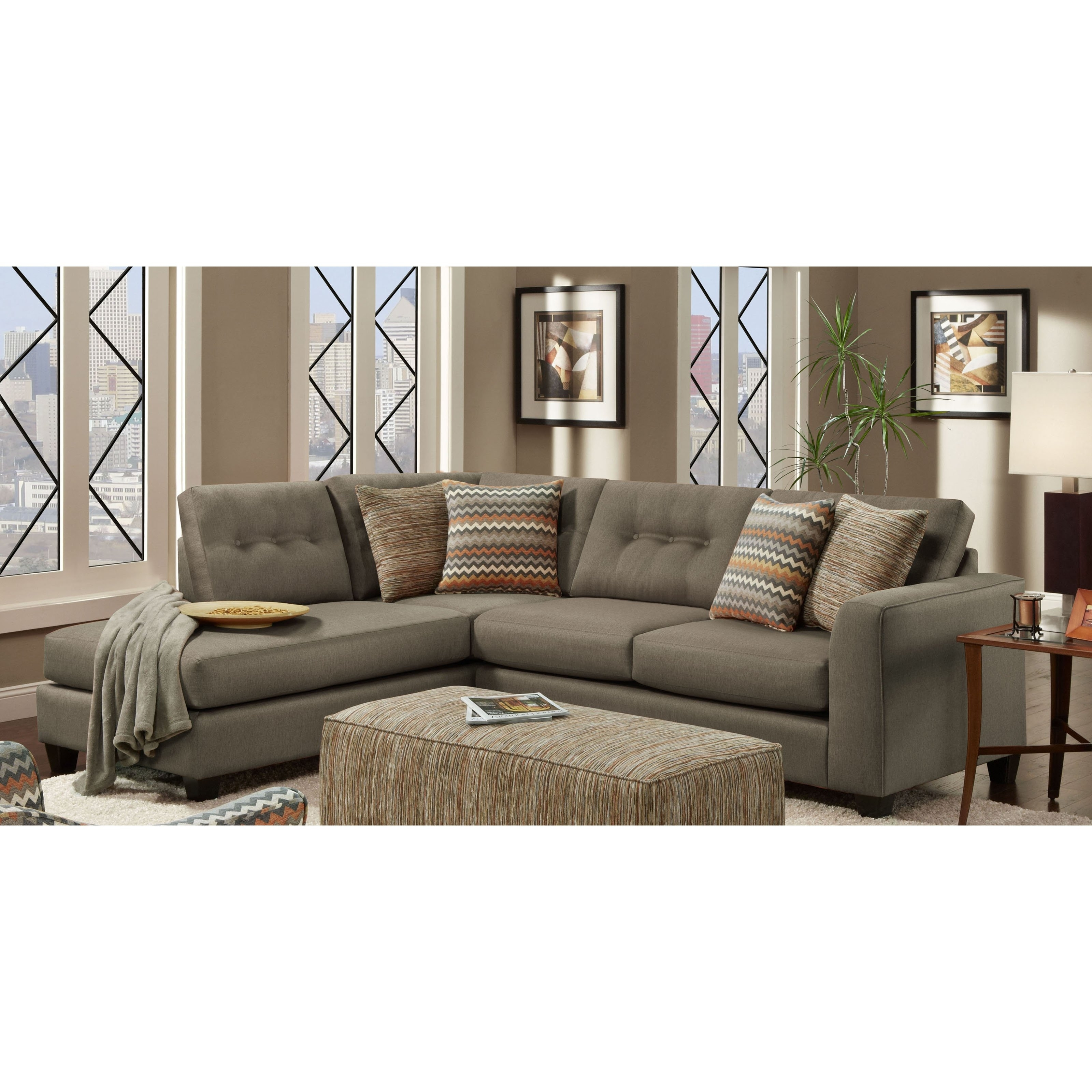 Best And Newest Phoenix Sectional Sofas Regarding Chelsea Home Furniture Phoenix Sectional Sofa – Walmart (View 5 of 15)