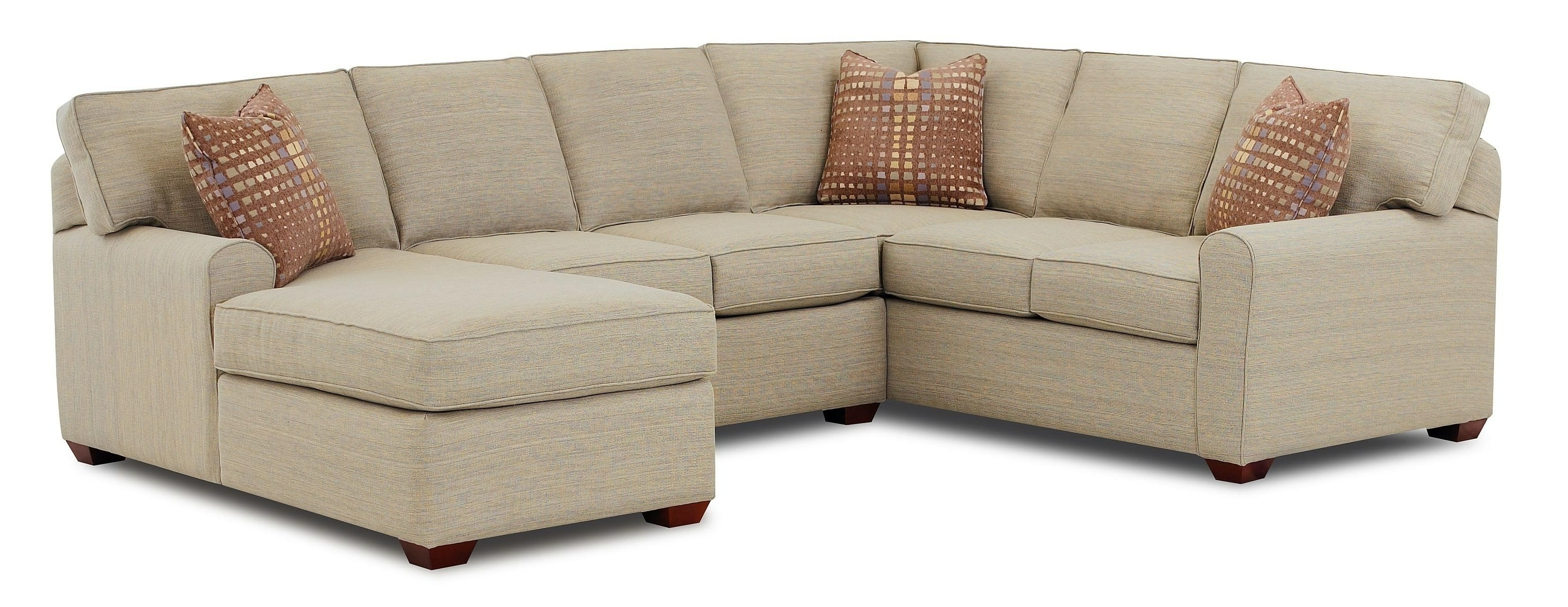 Best And Newest Sectional Sofa Design: Small Sectional Sofa With Chaise Lounge Throughout Small Couches With Chaise (View 3 of 15)